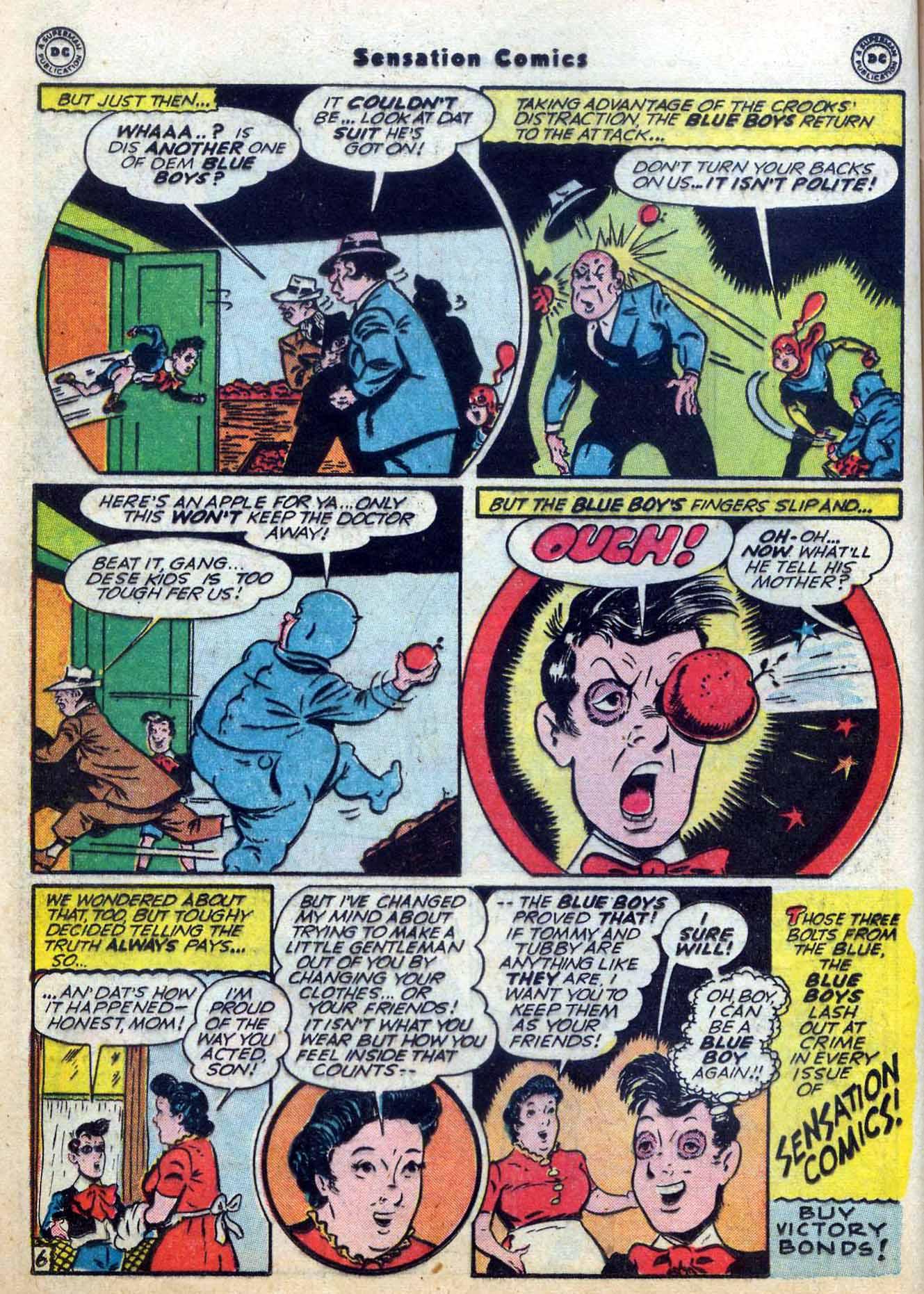 Read online Sensation (Mystery) Comics comic -  Issue #59 - 22