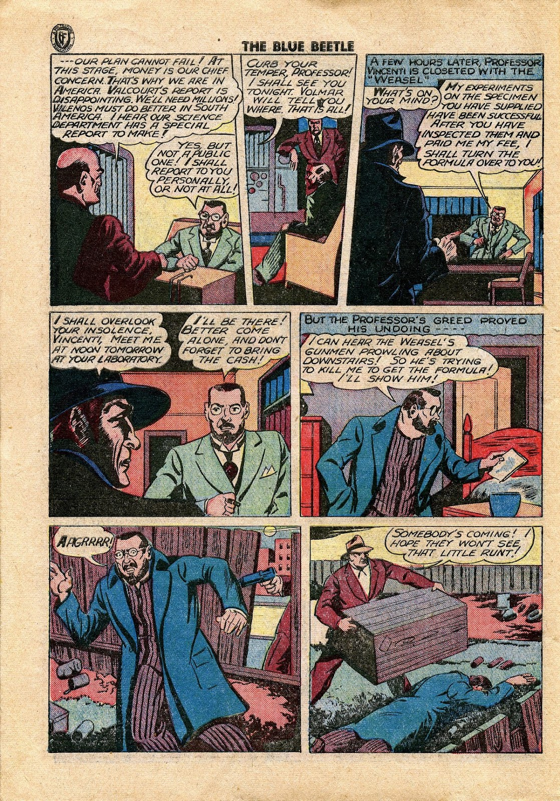 The Blue Beetle issue 34 - Page 35