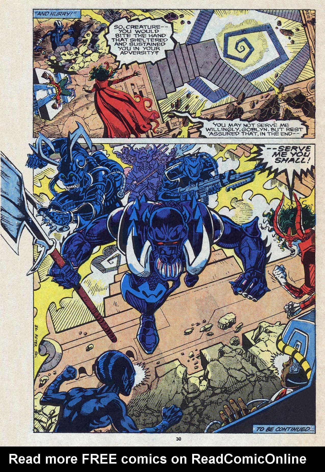 Read online Alpha Flight (1983) comic -  Issue #58 - 32