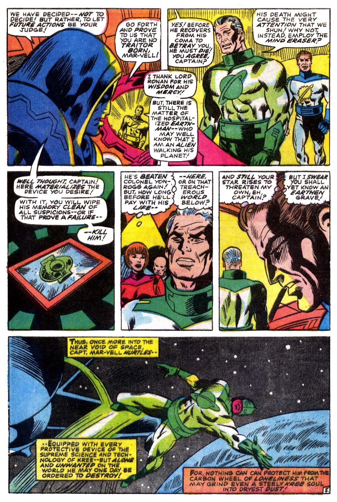 Captain Marvel (1968) issue 5 - Page 6
