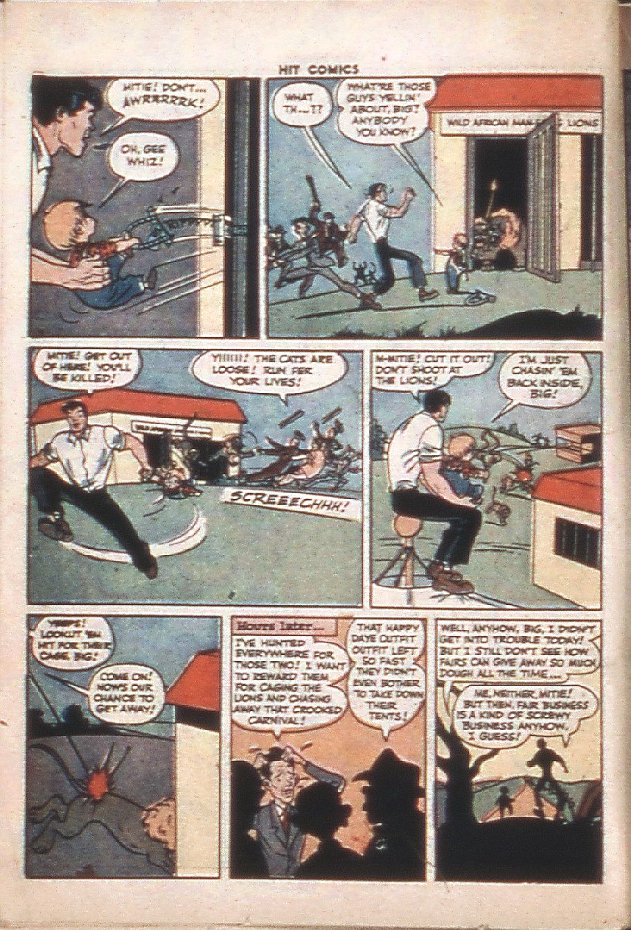 Read online Hit Comics comic -  Issue #37 - 38