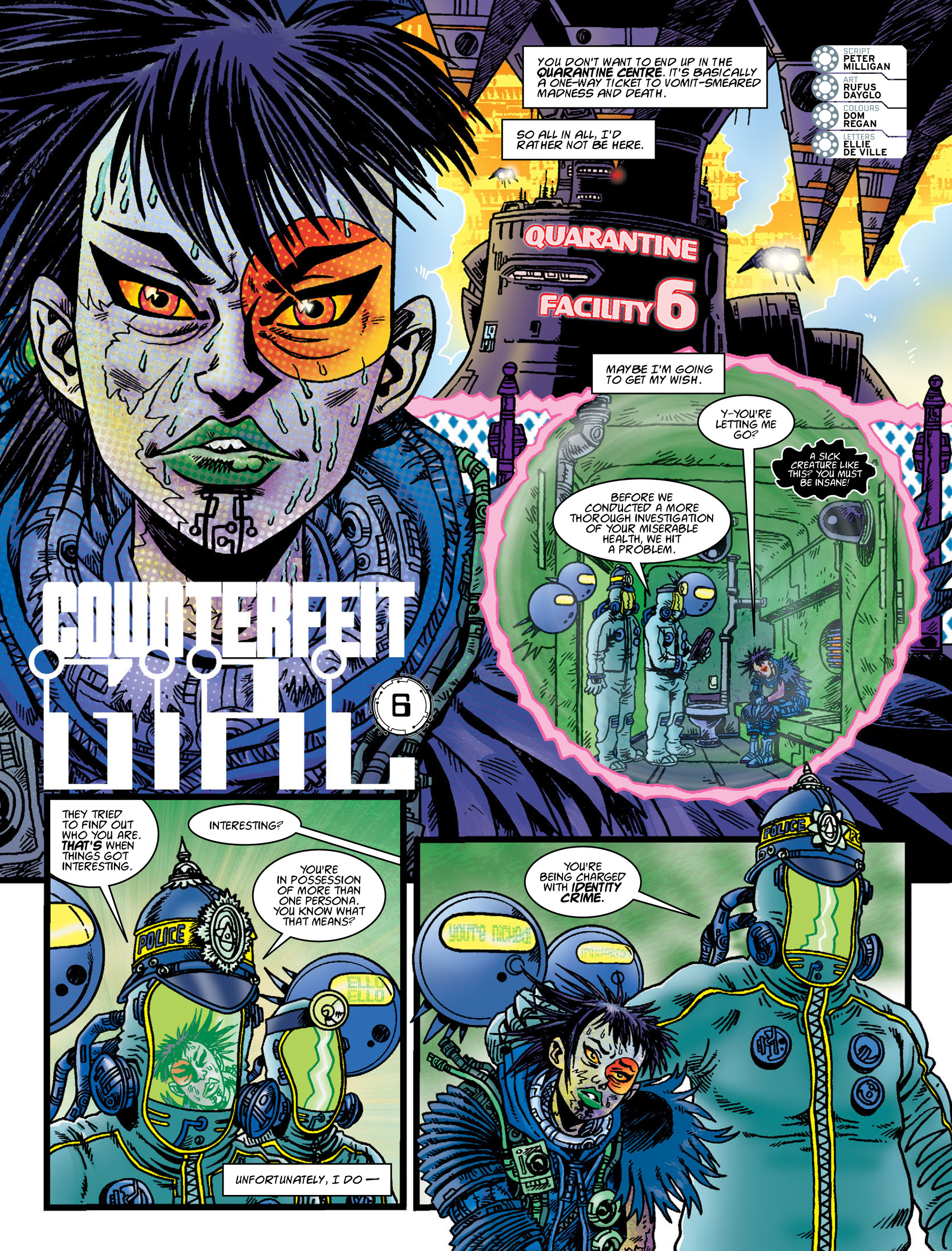 Read online 2000 AD comic -  Issue #2005 - 24