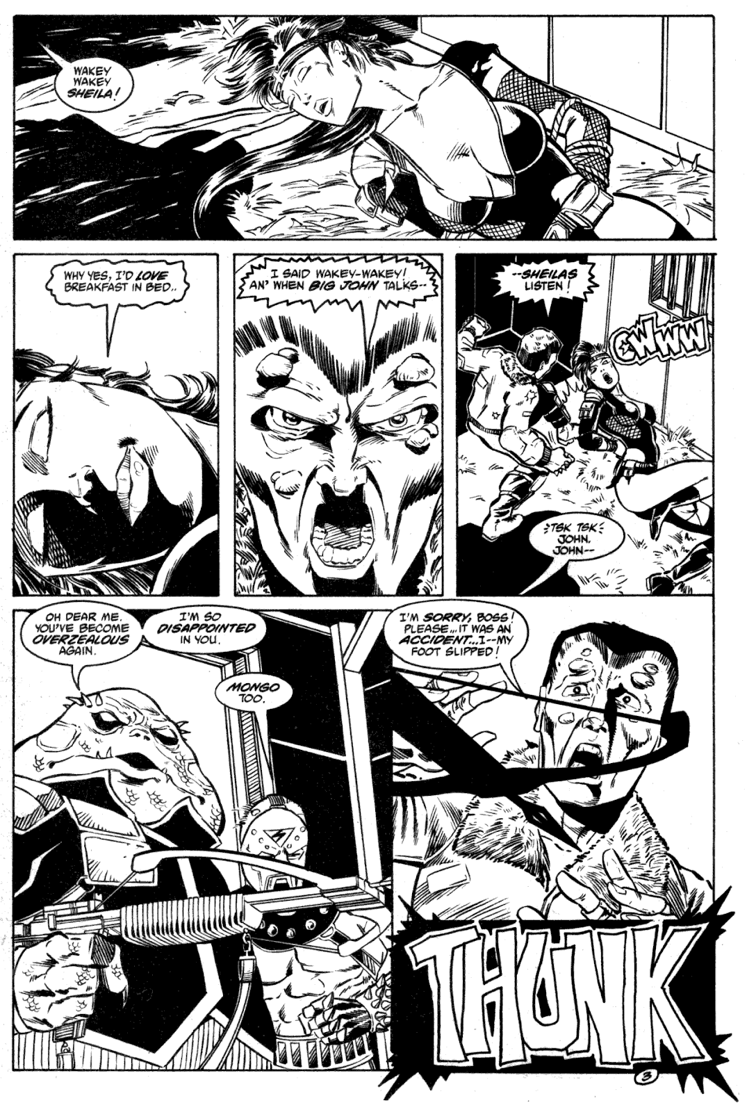 Shattered Earth issue 2 - Page 5