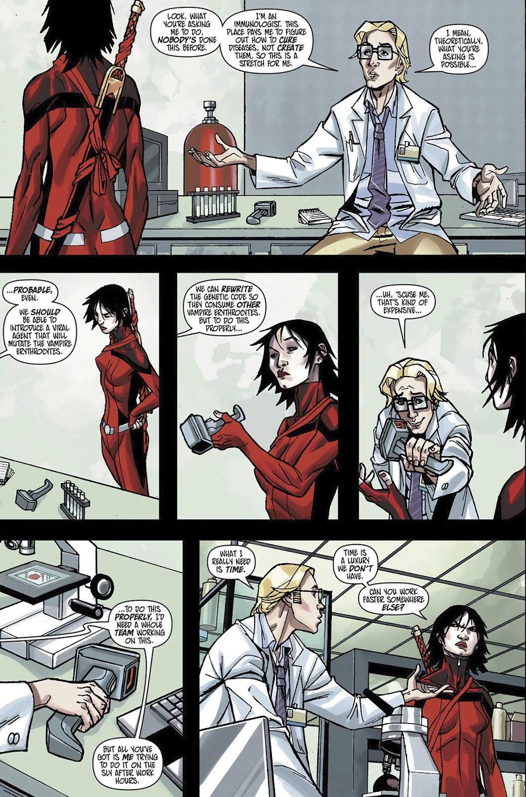 Read online Shinku comic -  Issue #3 - 12