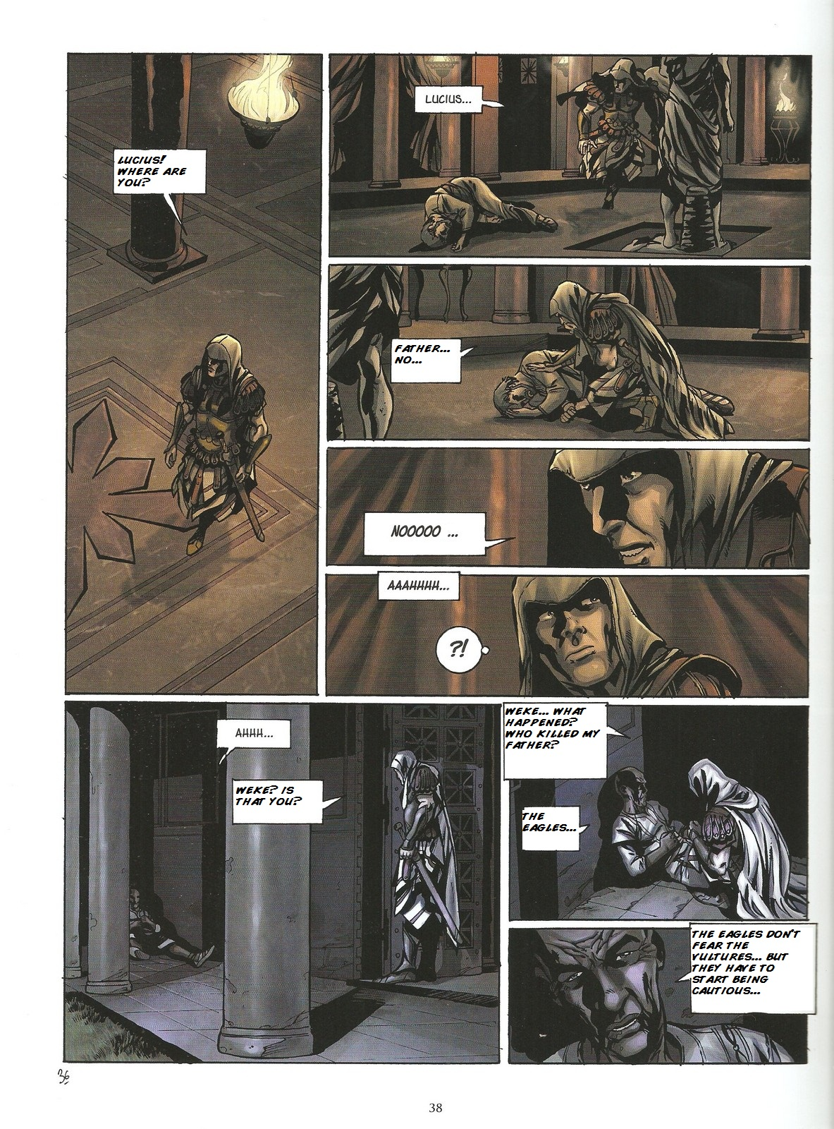 Read online Assassin's Creed (2009) comic -  Issue #2 - 38