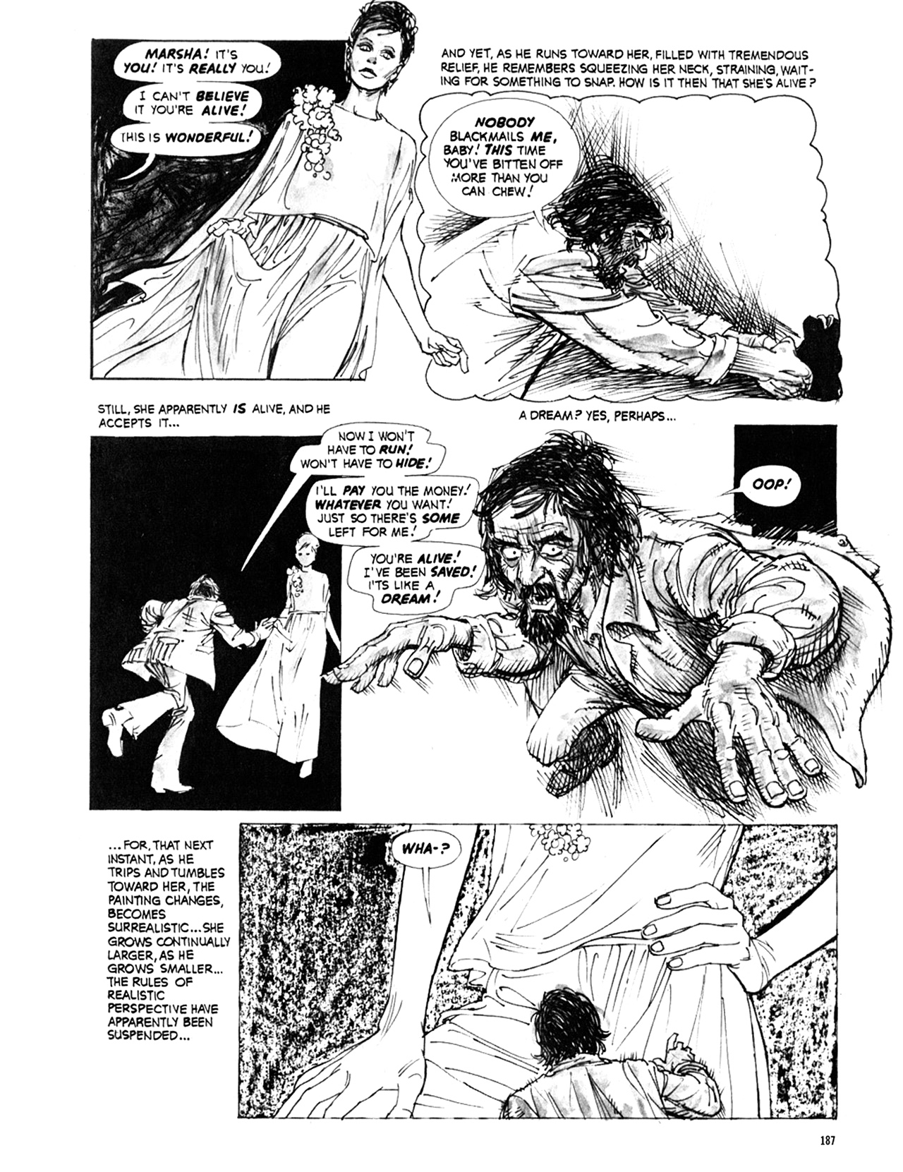 Read online Eerie Archives comic -  Issue # TPB 9 - 188