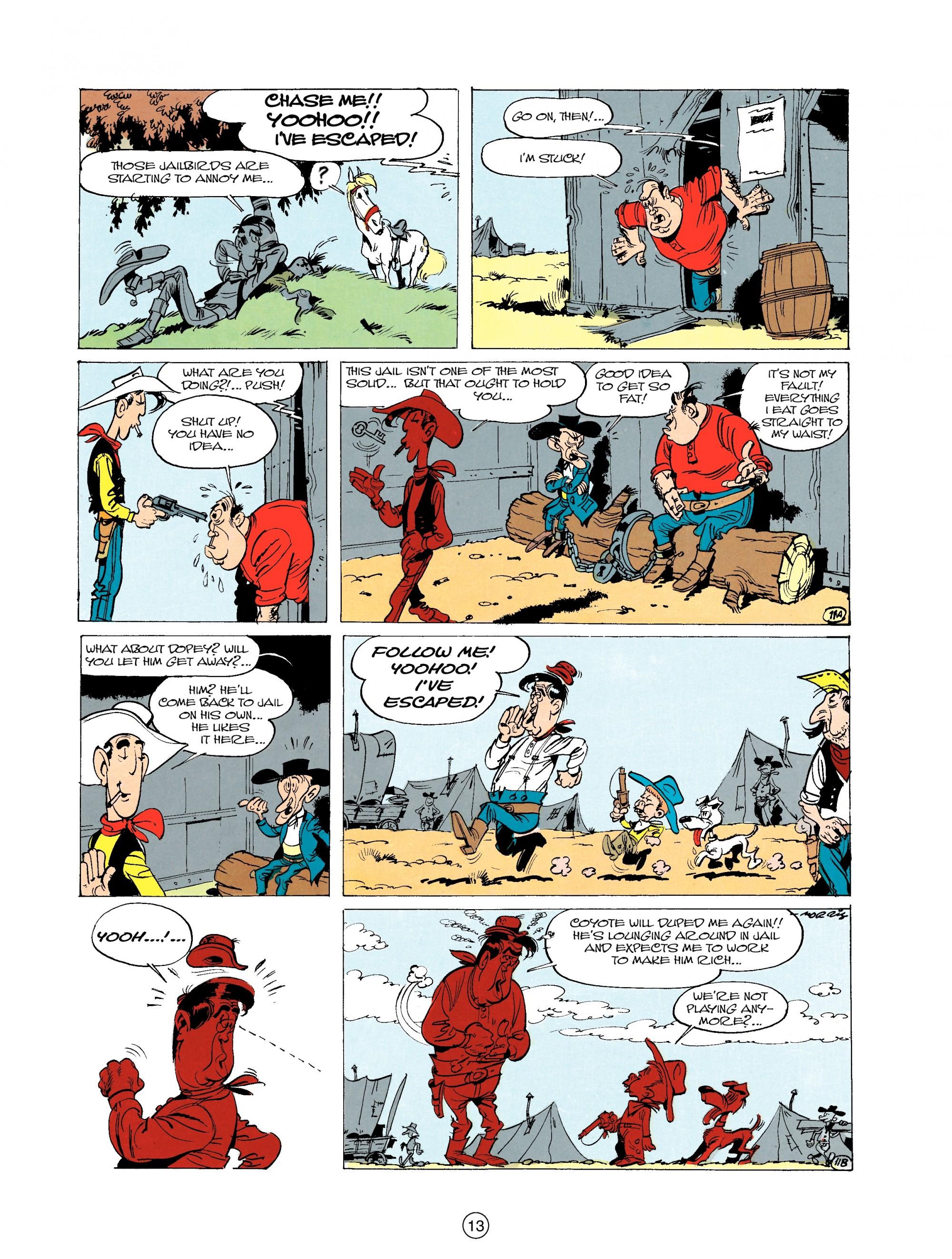 Read online A Lucky Luke Adventure comic -  Issue #20 - 13