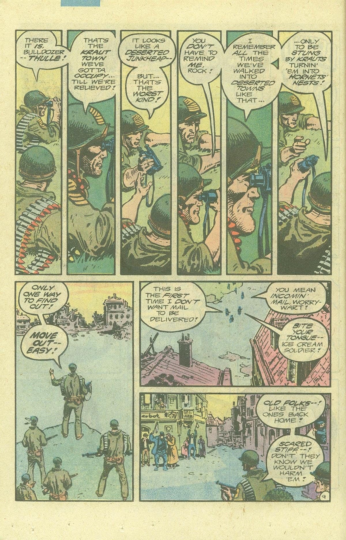 Read online Sgt. Rock comic -  Issue #378 - 13