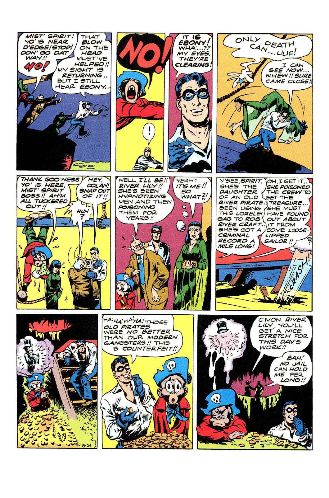 Read online Will Eisner's The Spirit Archives comic -  Issue # TPB 3 (Part 1) - 65