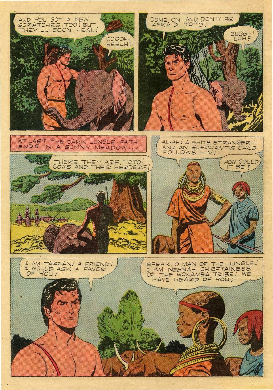 Tarzan (1948) issue 76 - Page 10