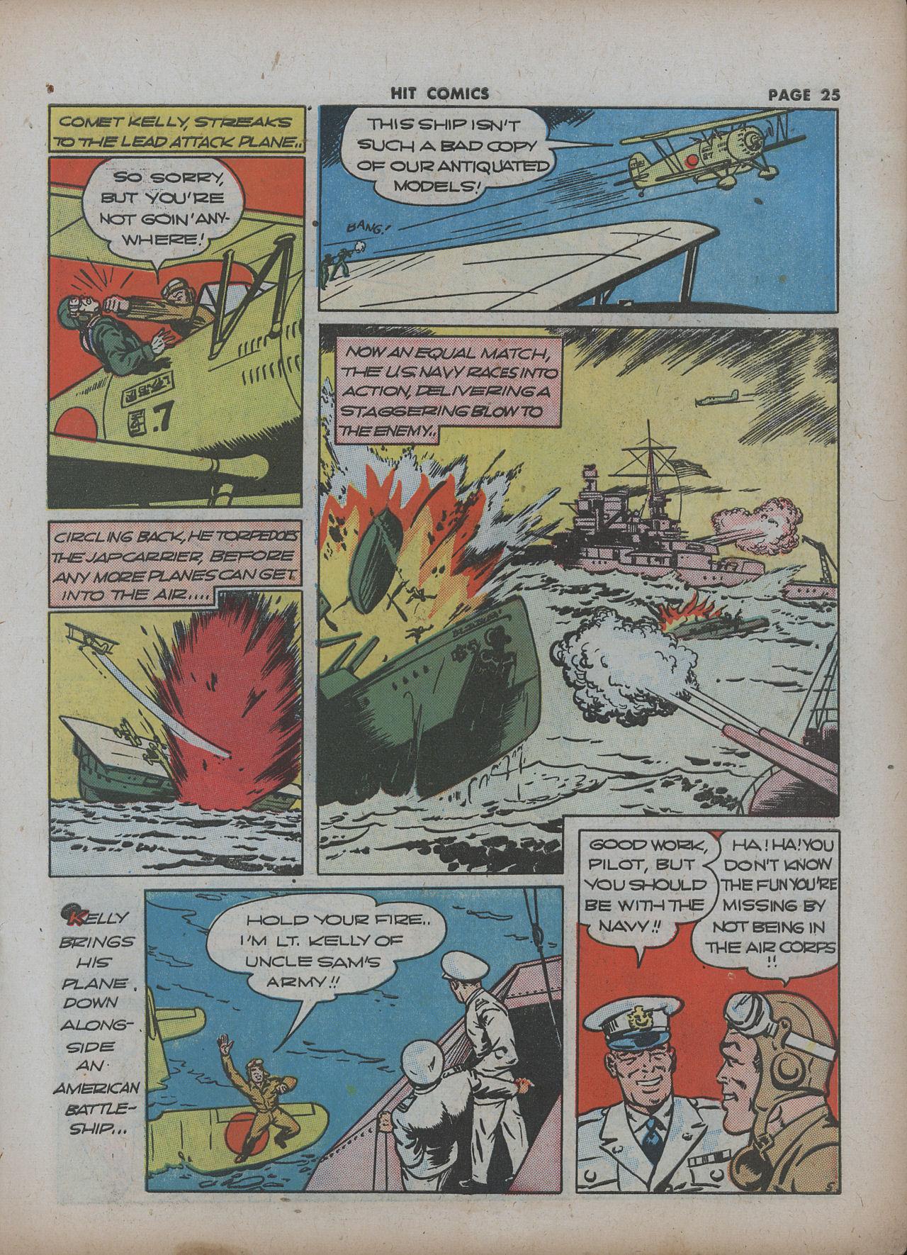 Read online Hit Comics comic -  Issue #22 - 27