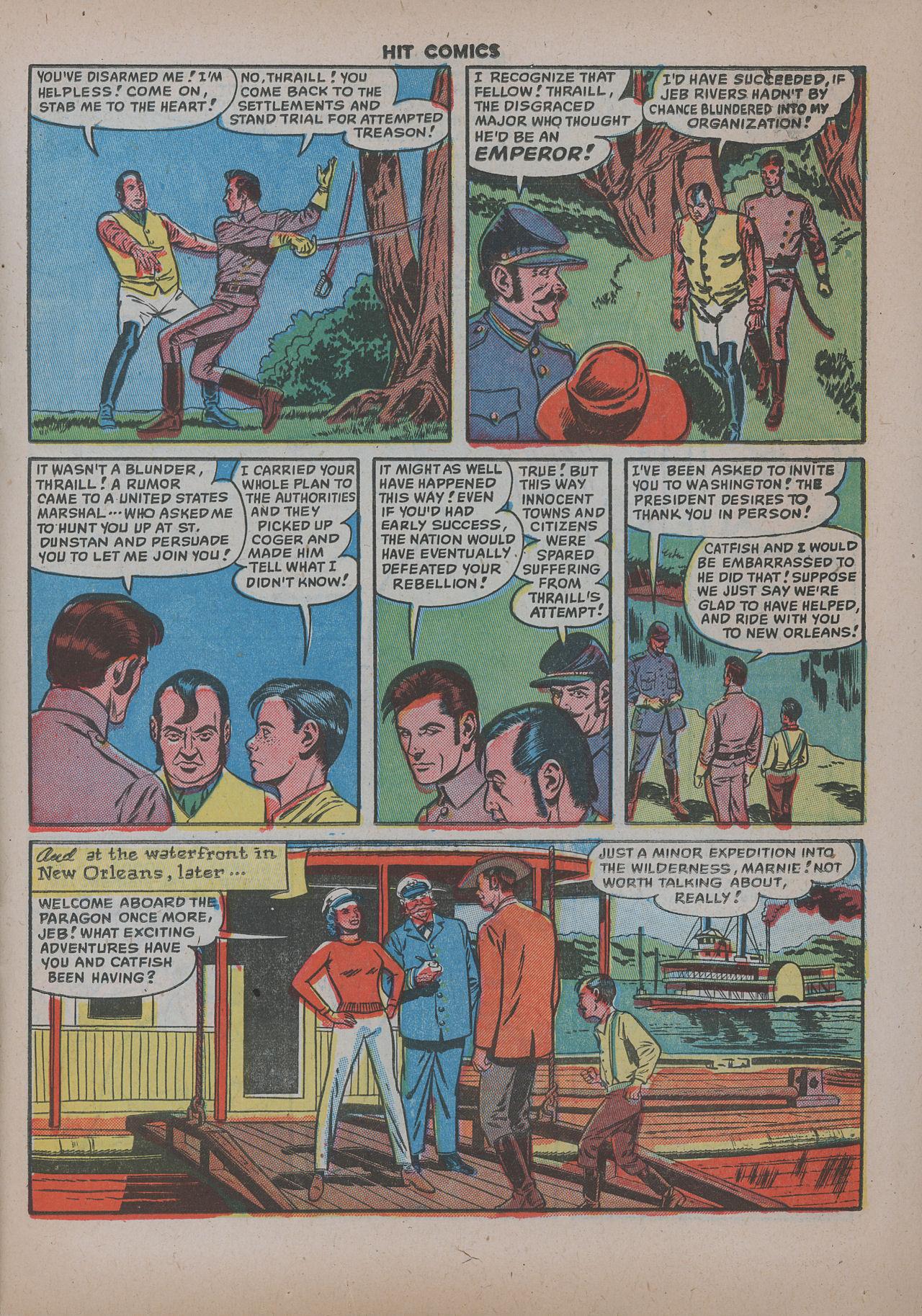 Read online Hit Comics comic -  Issue #62 - 16