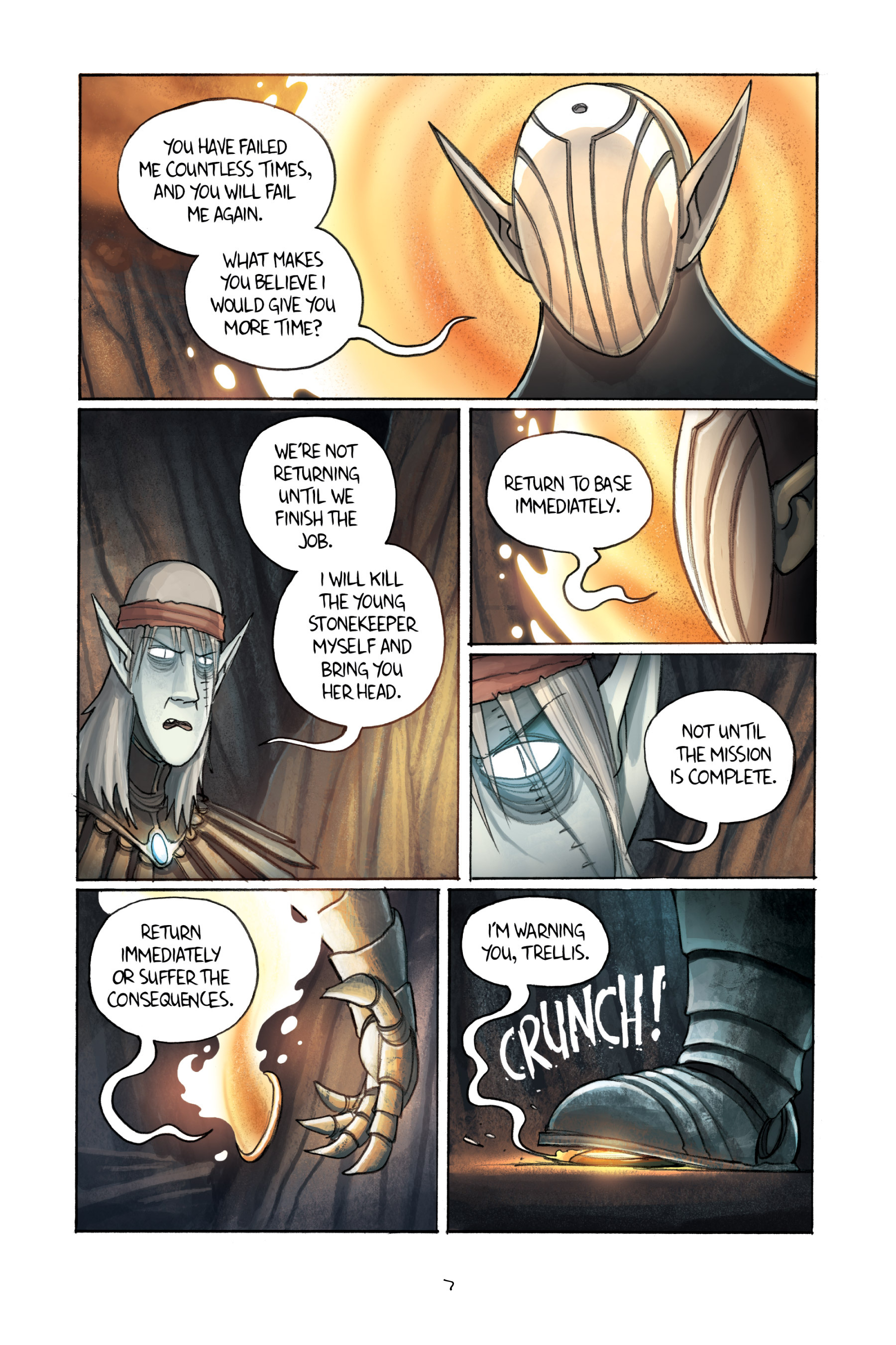 Read online Amulet comic -  Issue #3 - 9