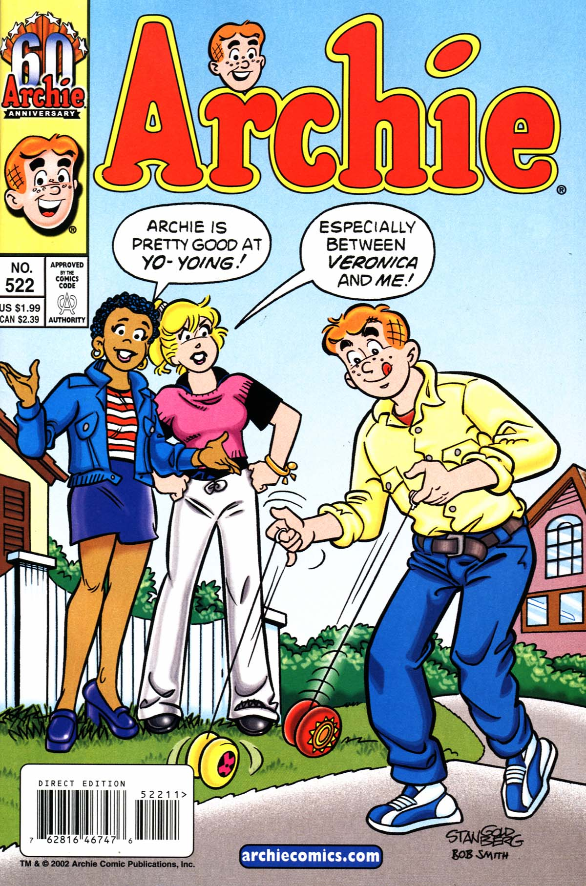 Read online Archie (1960) comic -  Issue #522 - 1