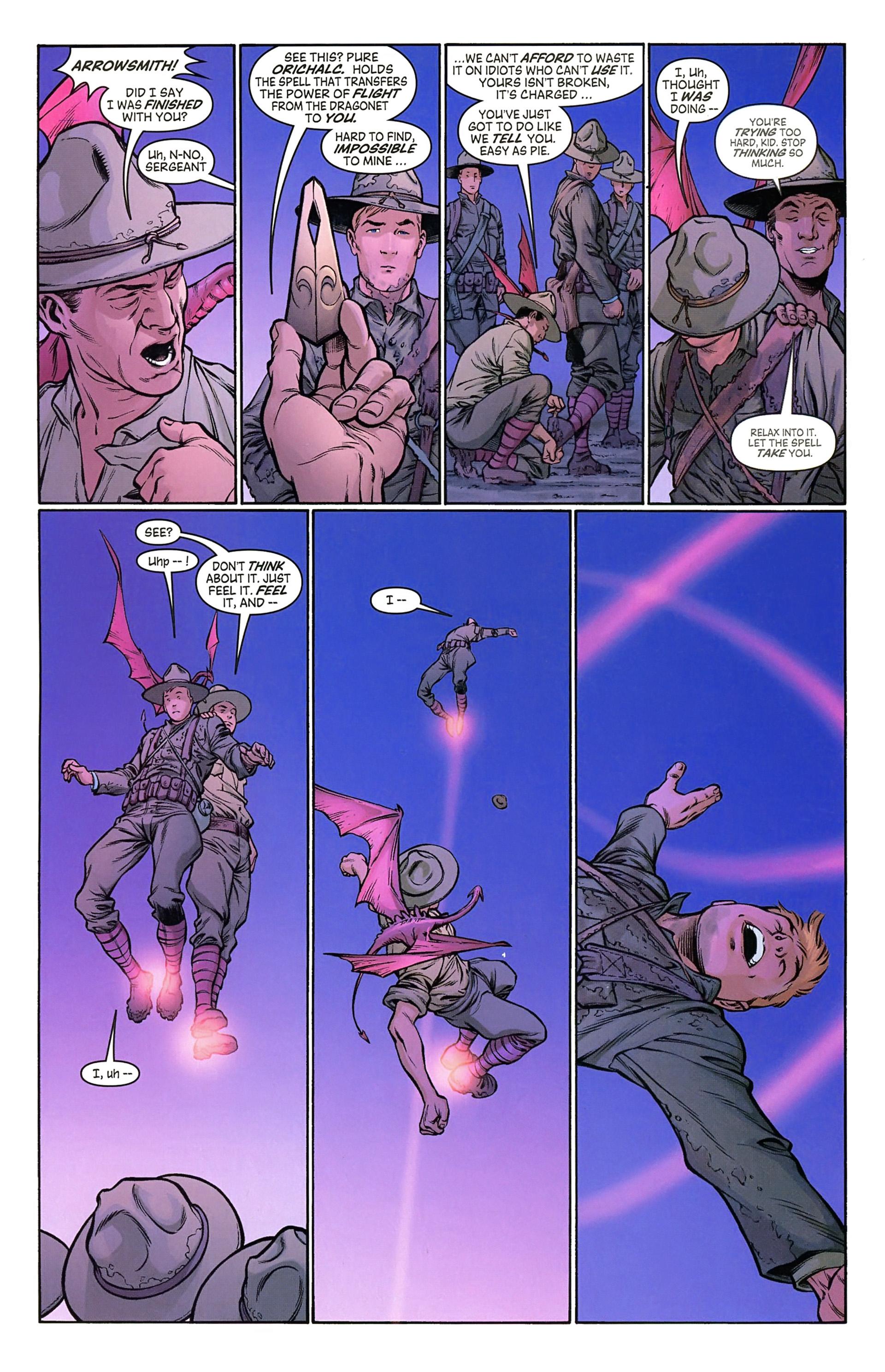 Read online Arrowsmith comic -  Issue #2 - 8