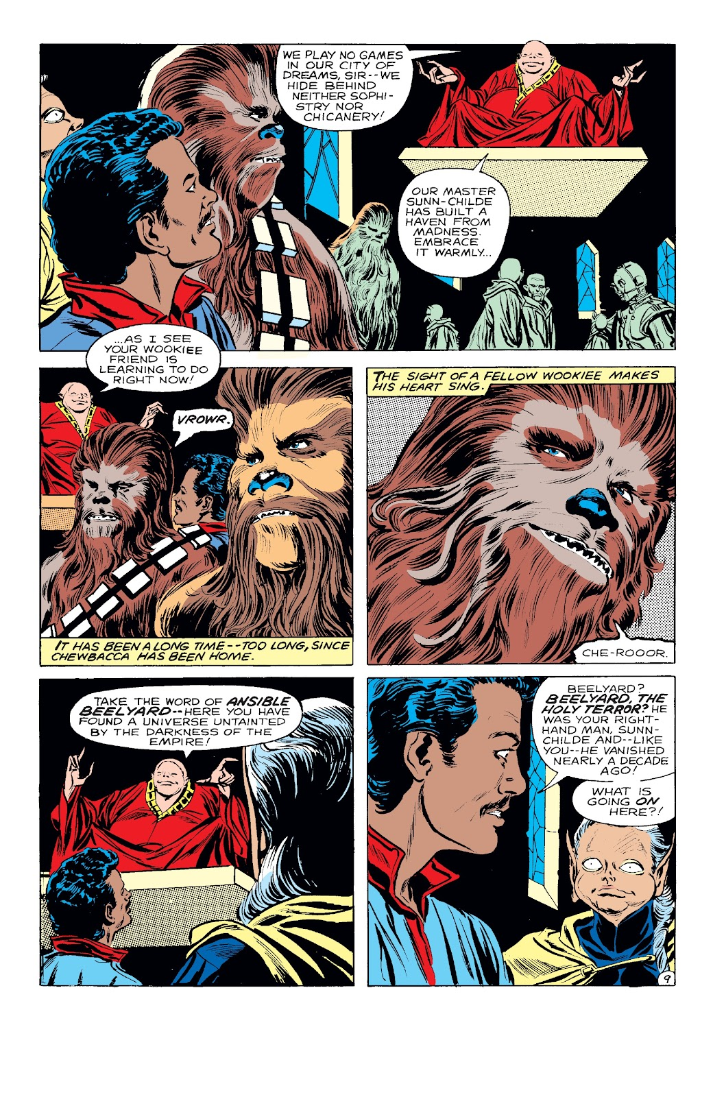 Read online Star Wars Legends: The Original Marvel Years - Epic Collection comic -  Issue # TPB 3 (Part 2) - 45