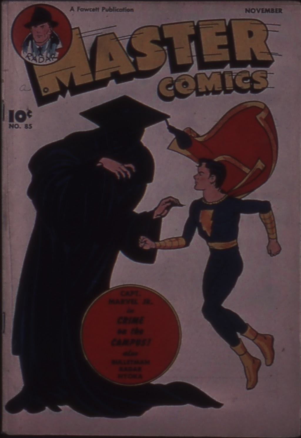 Master Comics 85 Page 1