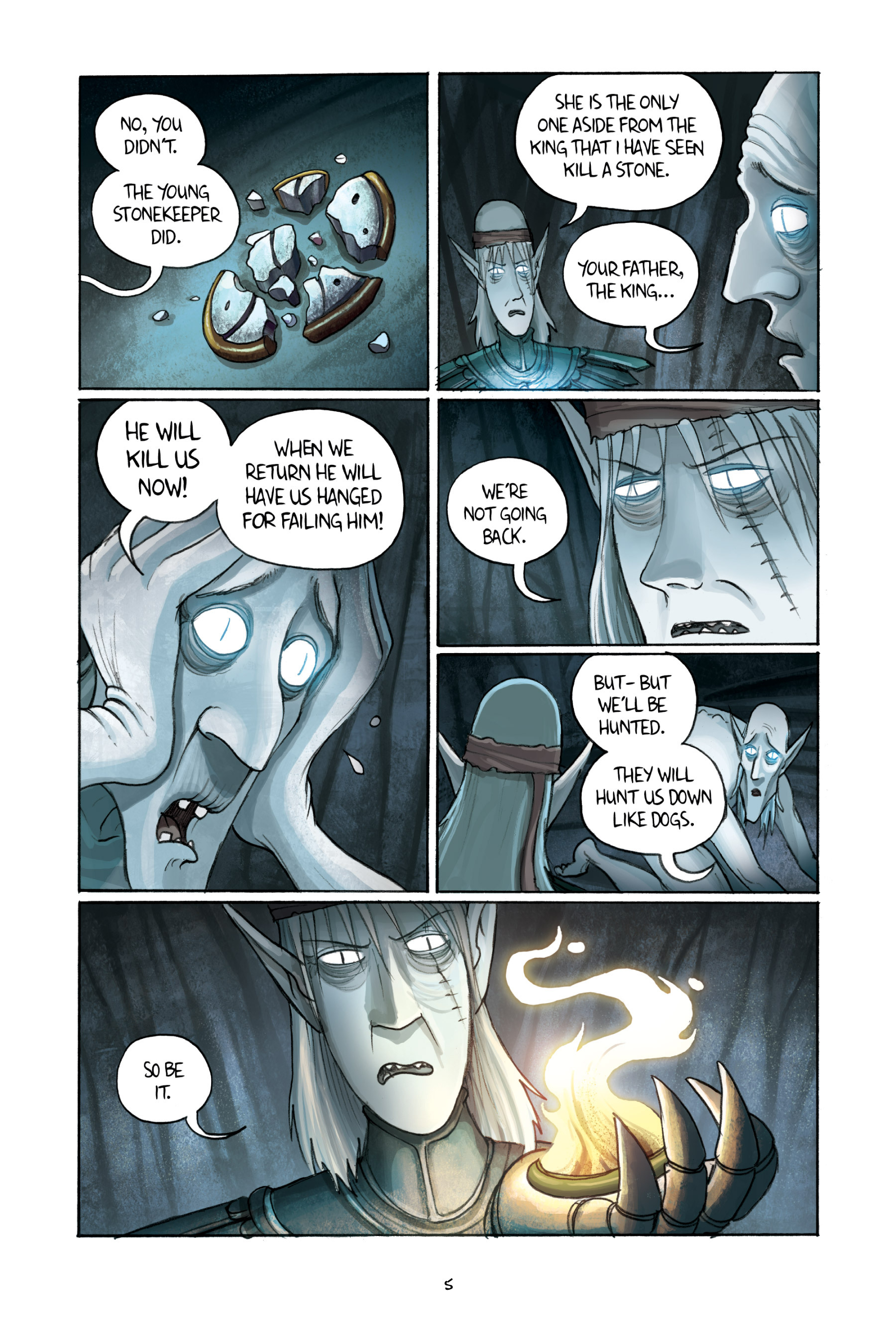 Read online Amulet comic -  Issue #3 - 7