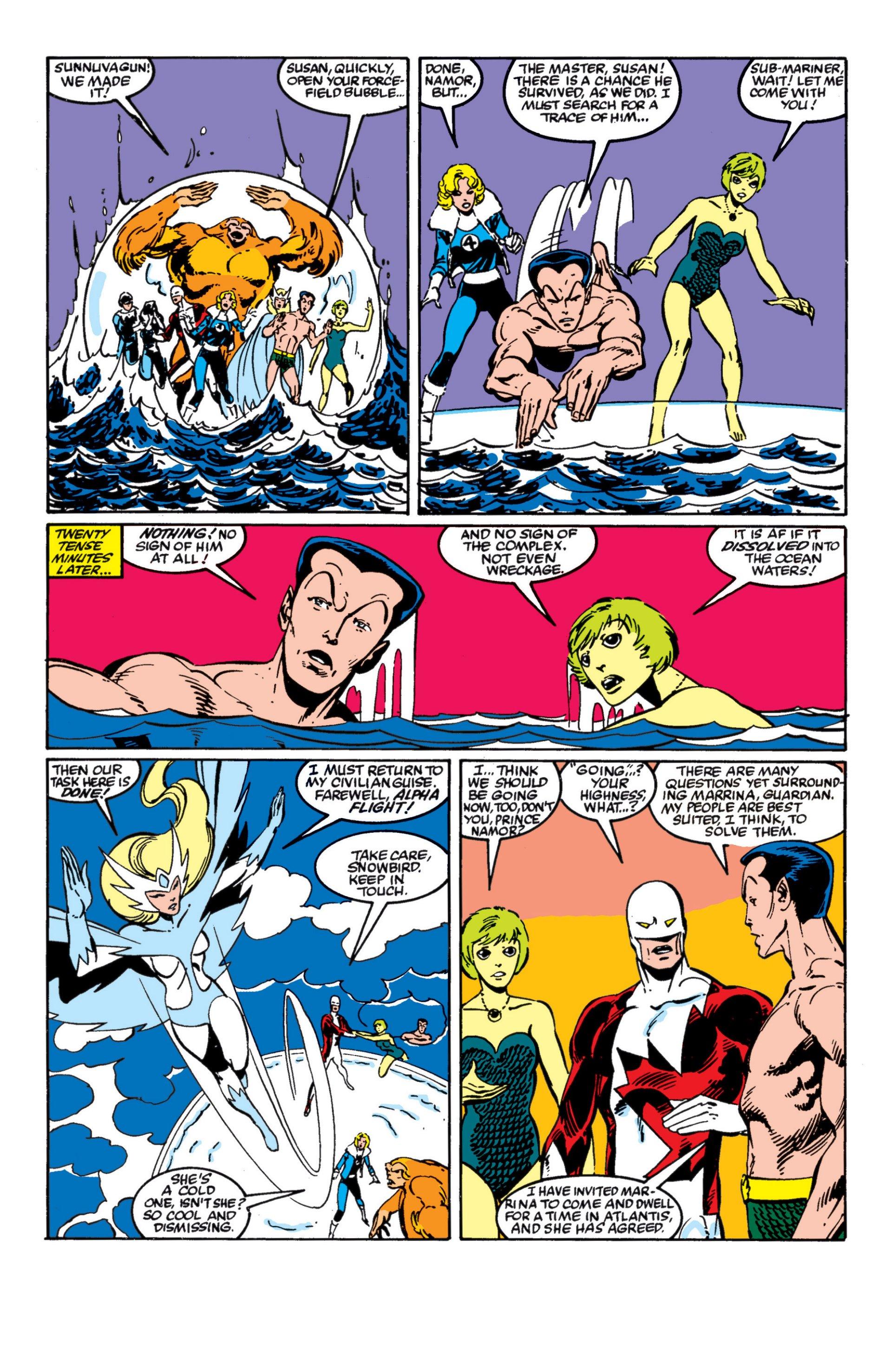 Read online Alpha Flight (1983) comic -  Issue #4 - 20