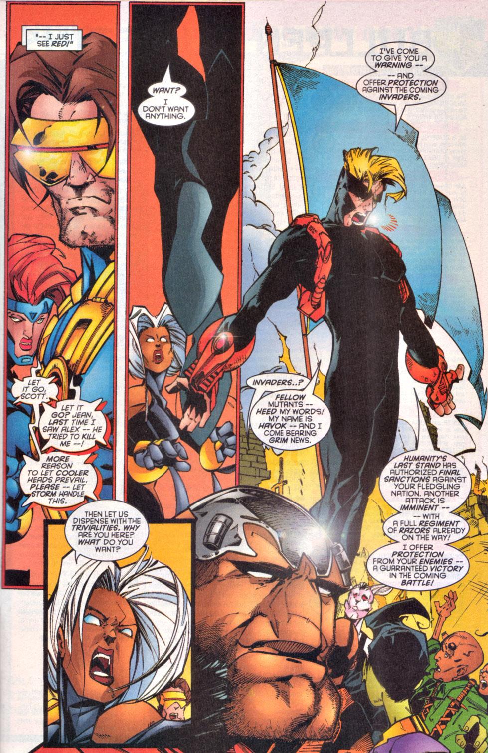 Read online Uncanny X-Men (1963) comic -  Issue # _Annual 1997 - 15
