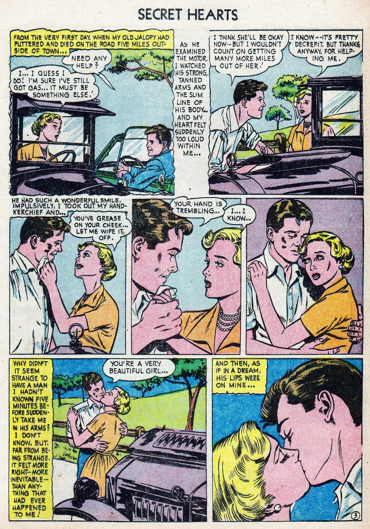 Read online Secret Hearts comic -  Issue #25 - 21