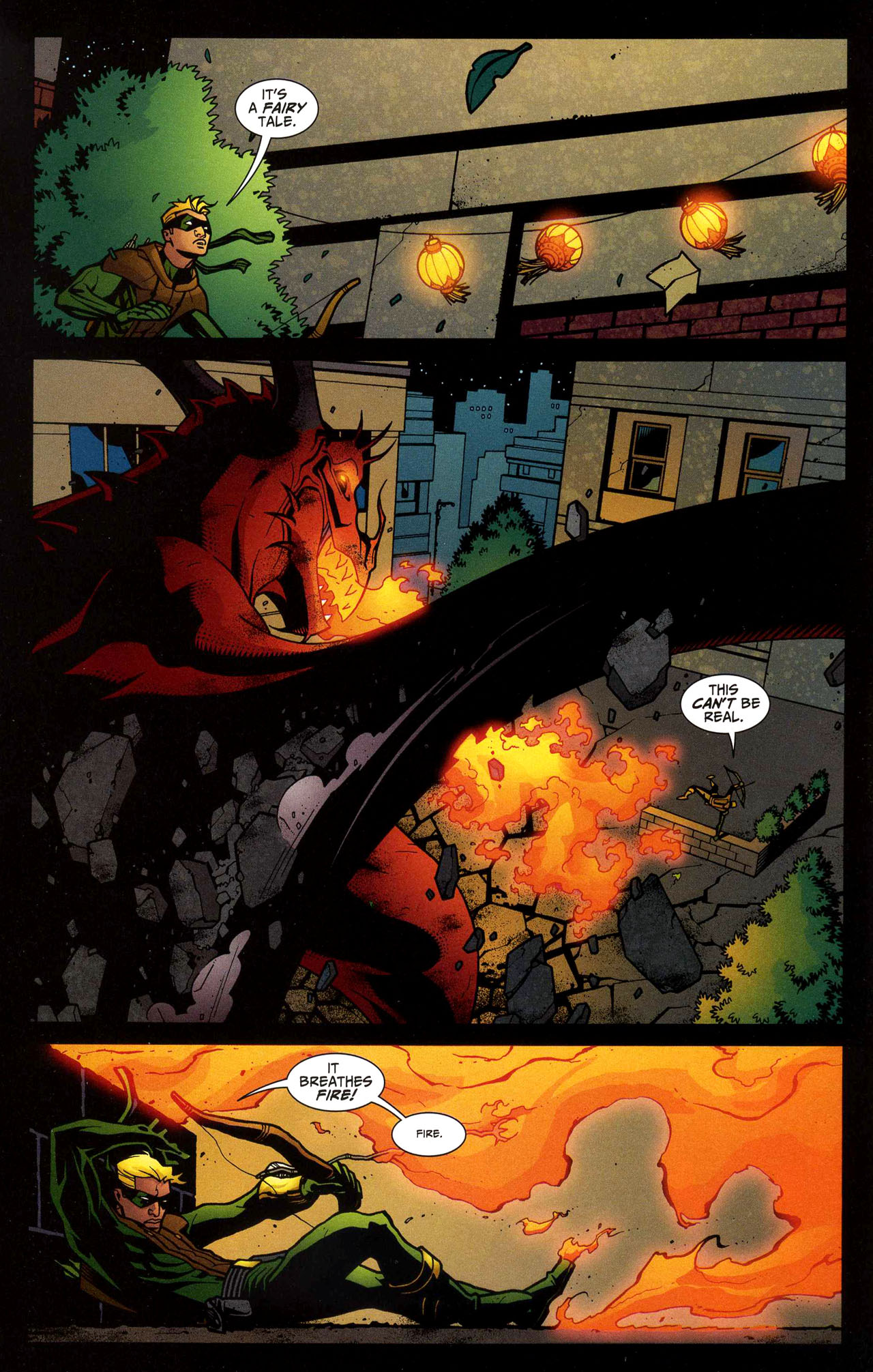 Read online Connor Hawke:  Dragon's Blood comic -  Issue #5 - 4