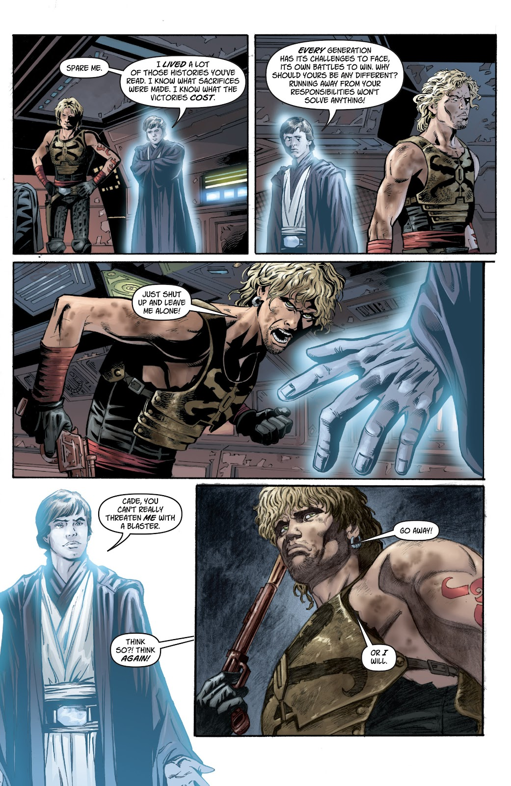 Read online Star Wars Legends: Legacy - Epic Collection comic -  Issue # TPB 1 (Part 1) - 69