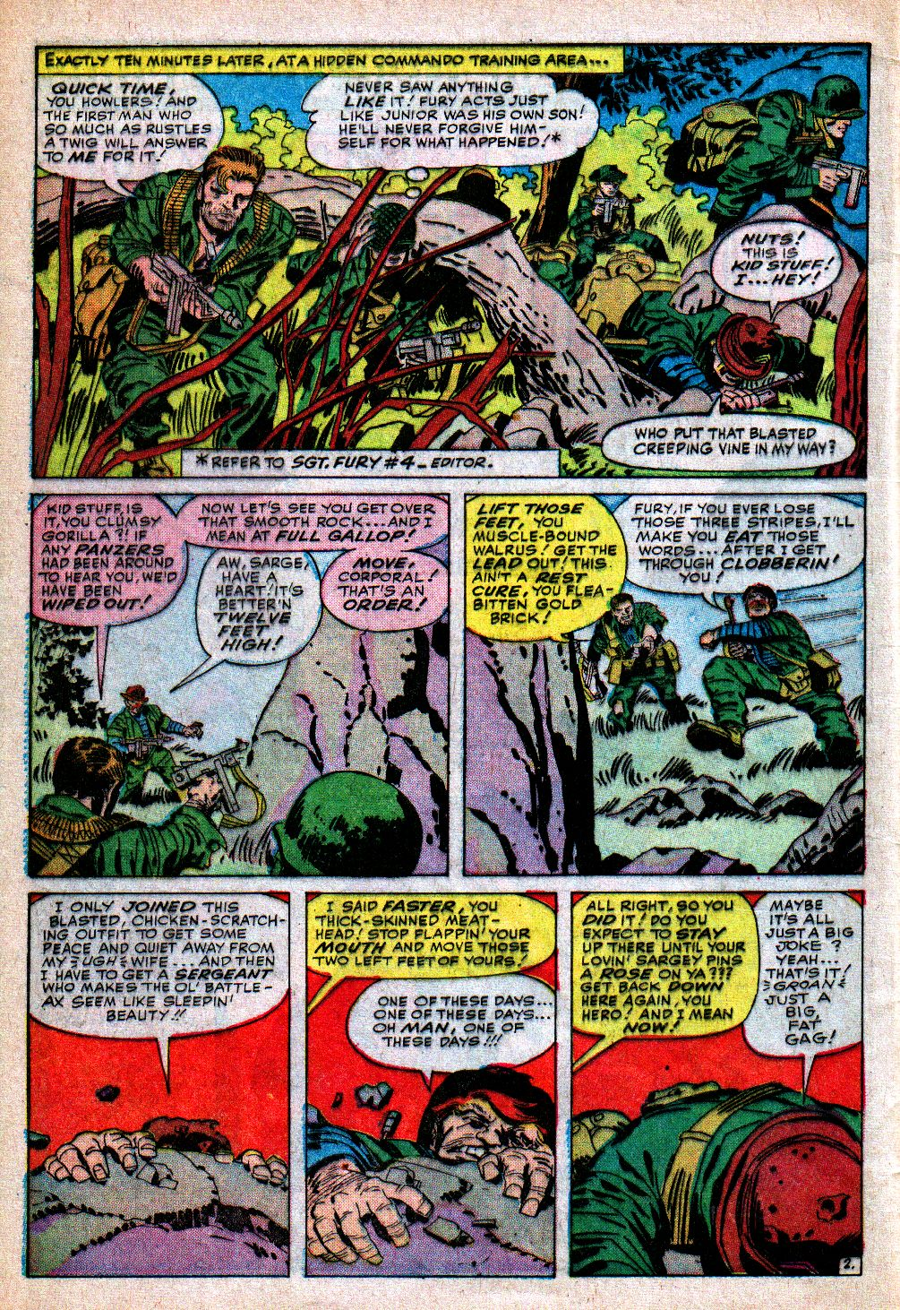 Read online Sgt. Fury comic -  Issue #5 - 4
