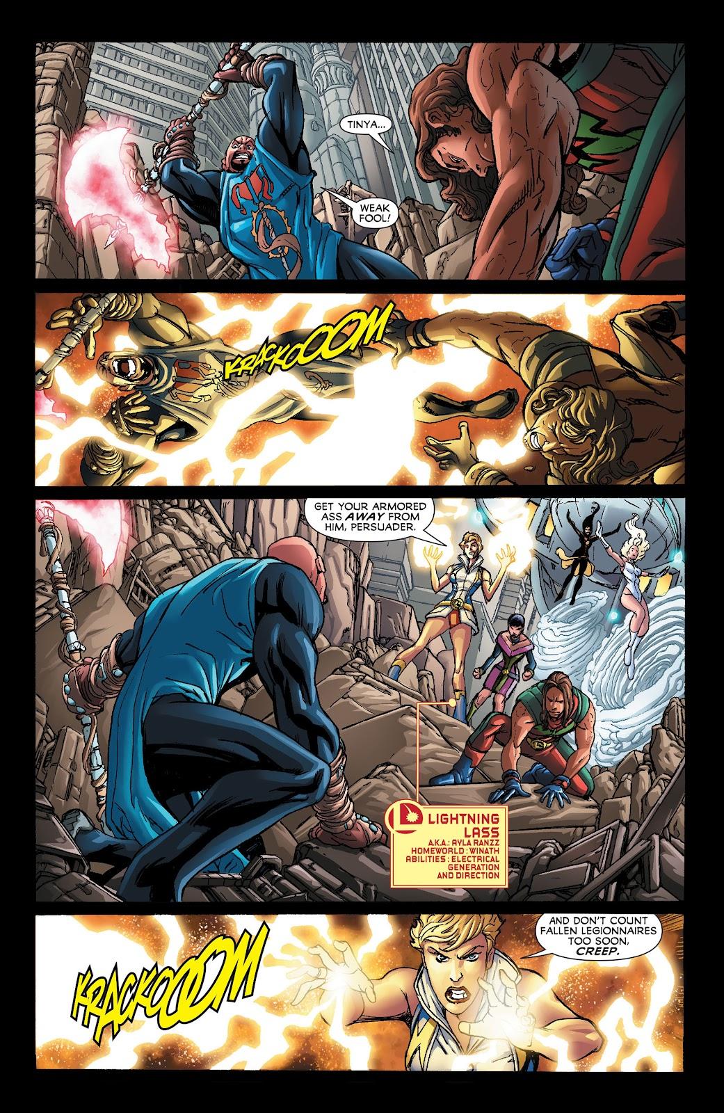 Legion of Super-Heroes (2011) Issue #21 #22 - English 12