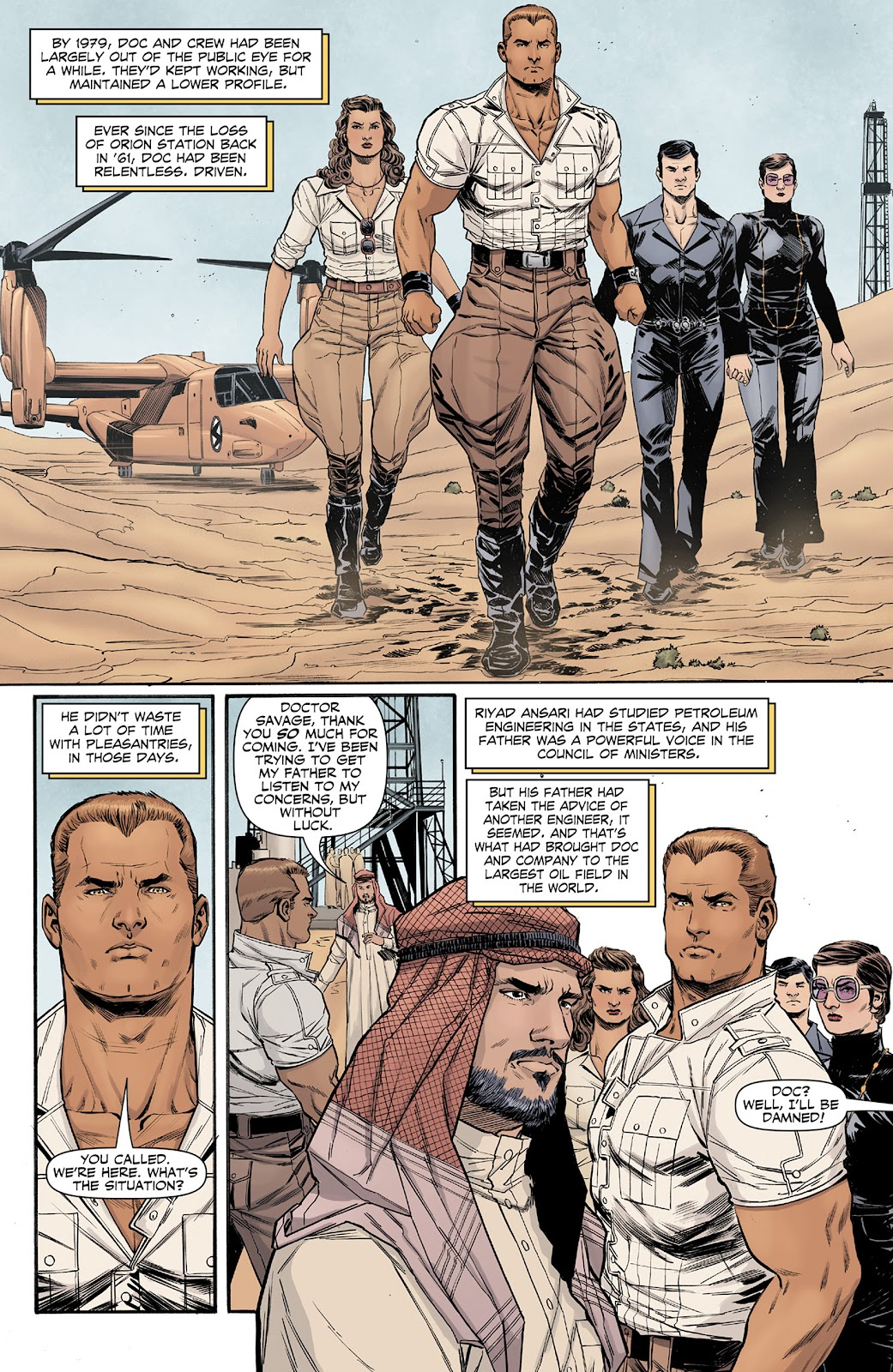 Doc Savage (2013) issue 4 - Page 3