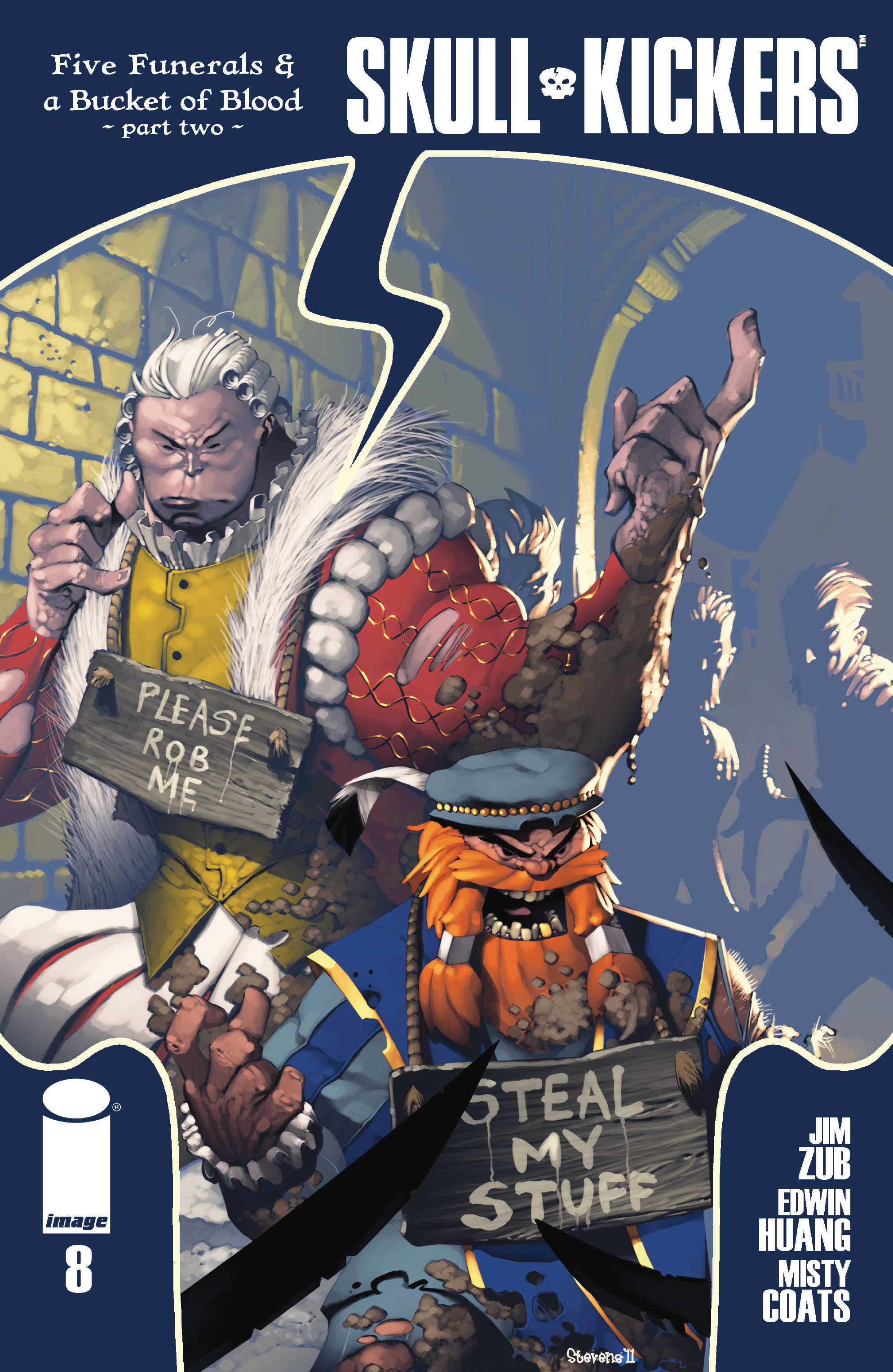 Read online Skullkickers comic -  Issue #8 - 1