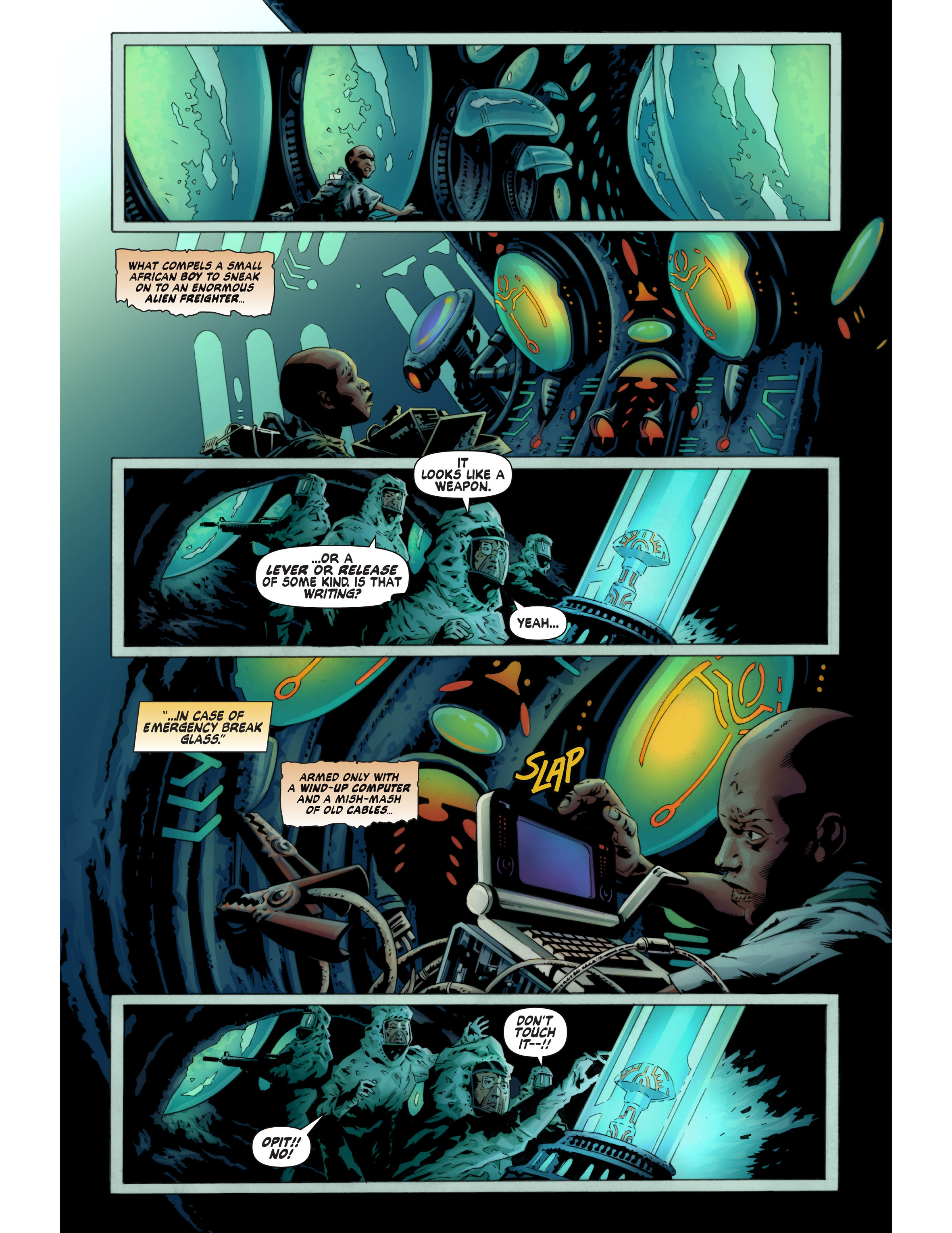 Read online Bad Planet comic -  Issue # TPB - 41