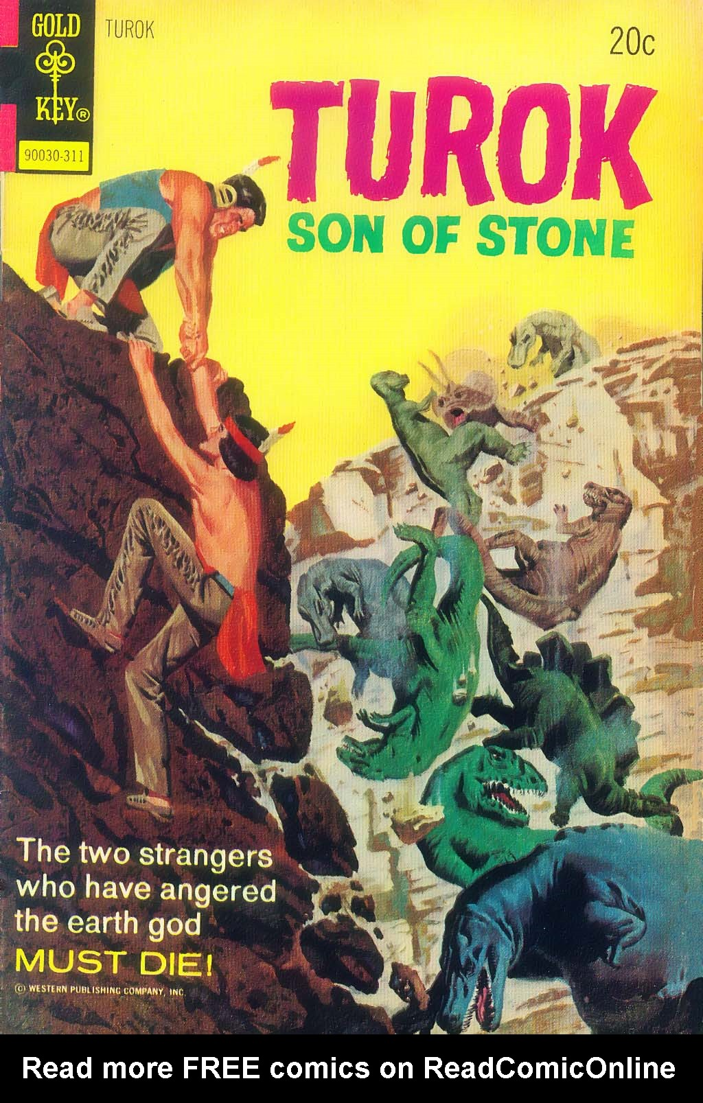 Read online Turok, Son of Stone comic -  Issue #87 - 1