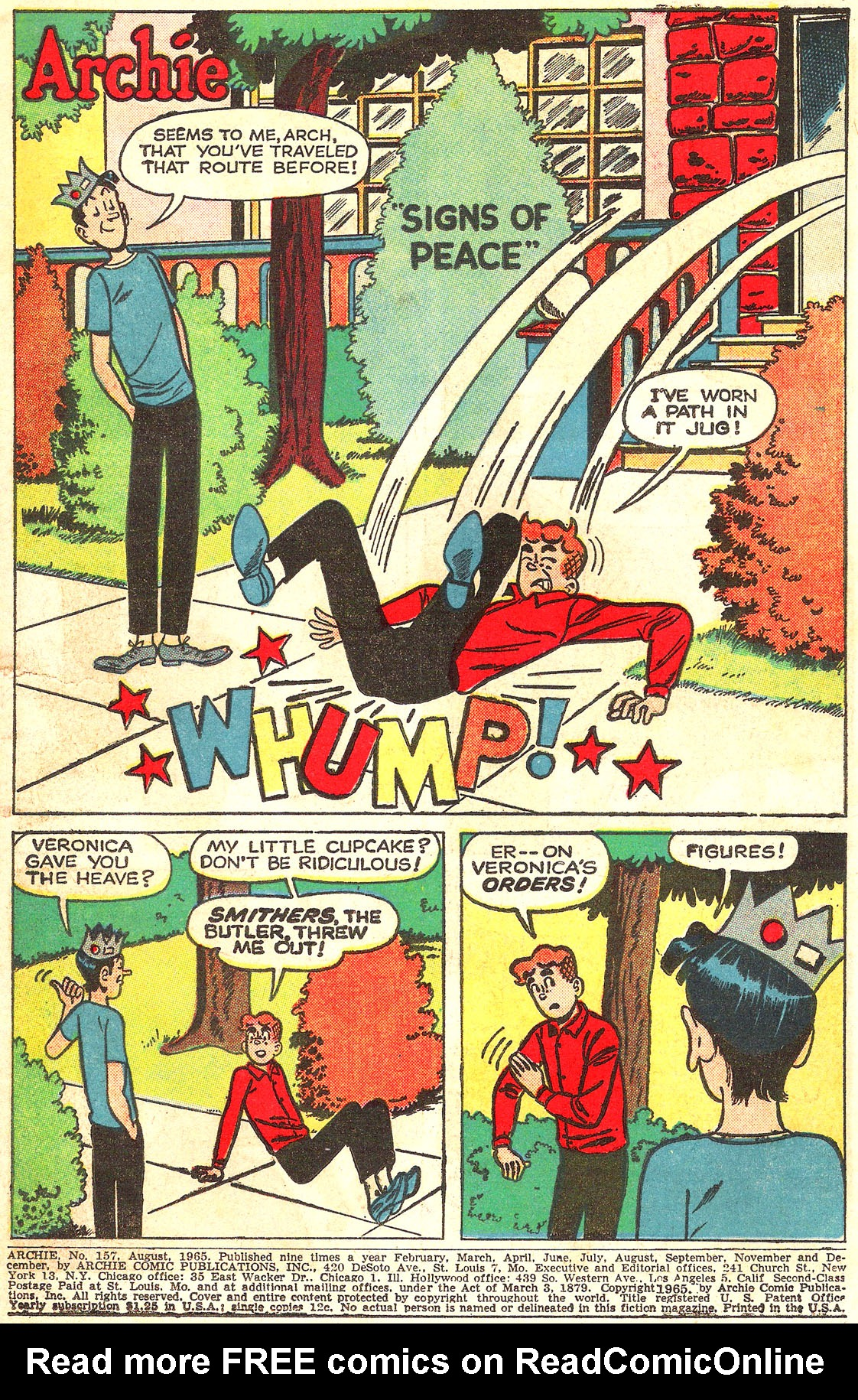 Read online Archie (1960) comic -  Issue #157 - 3