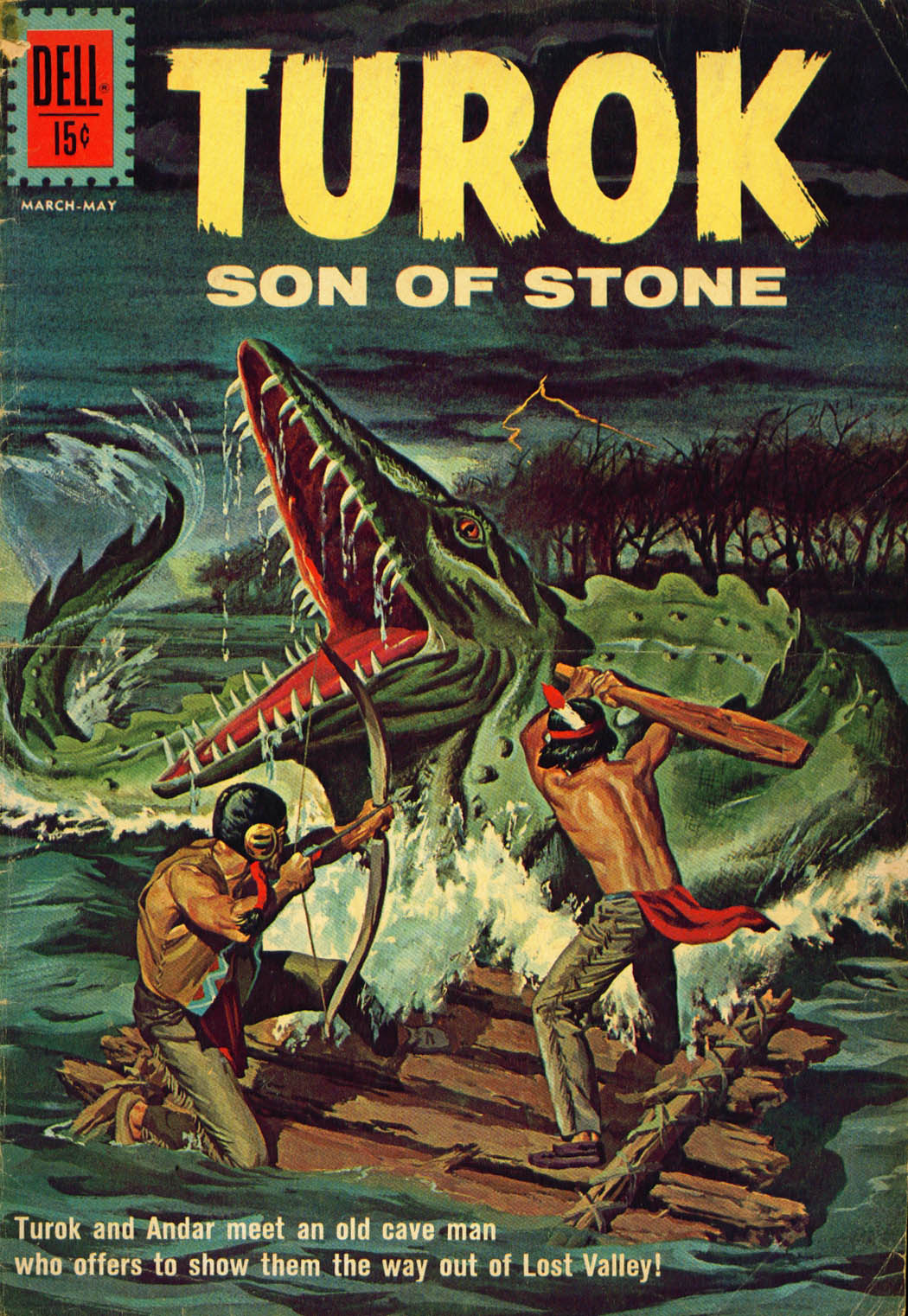 Read online Turok, Son of Stone comic -  Issue #27 - 1