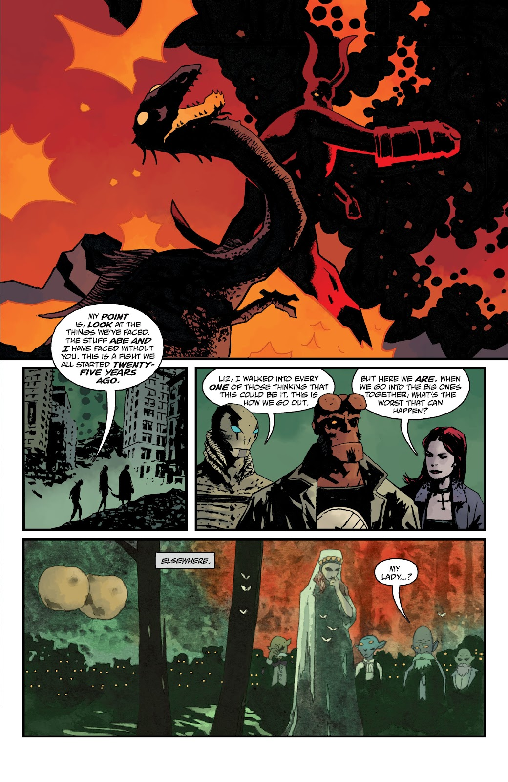 Read online B.P.R.D. The Devil You Know comic -  Issue #13 - 5