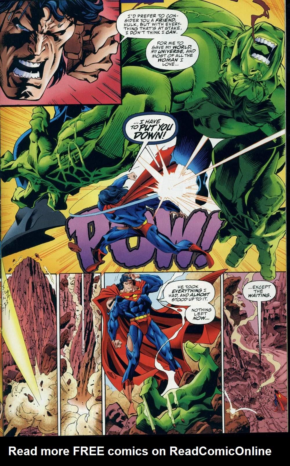 Read online DC Versus Marvel Comics comic -  Issue #3 - 32