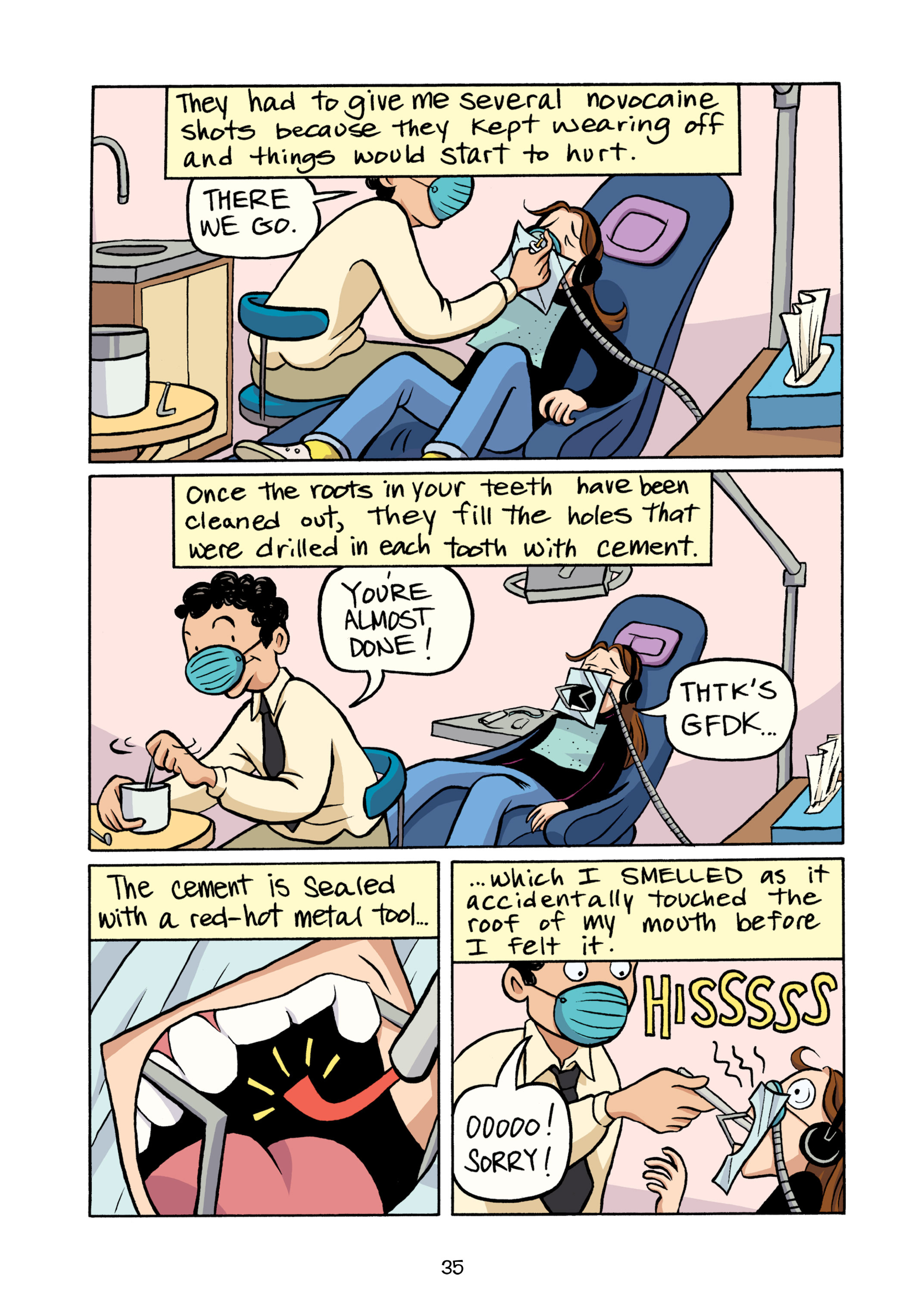 Read online Smile comic -  Issue # TPB - 41