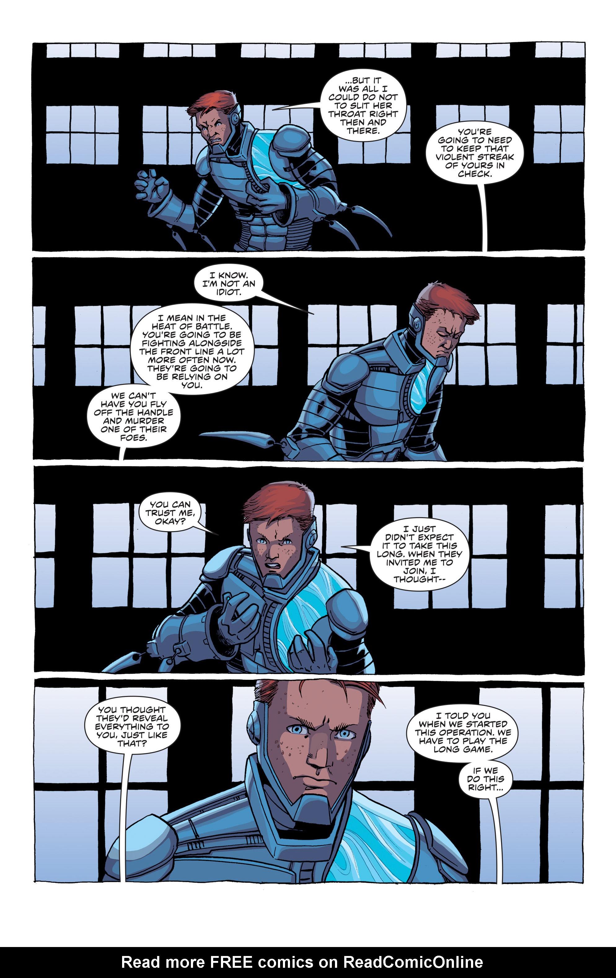 Read online Secret Identities comic -  Issue #1 - 28
