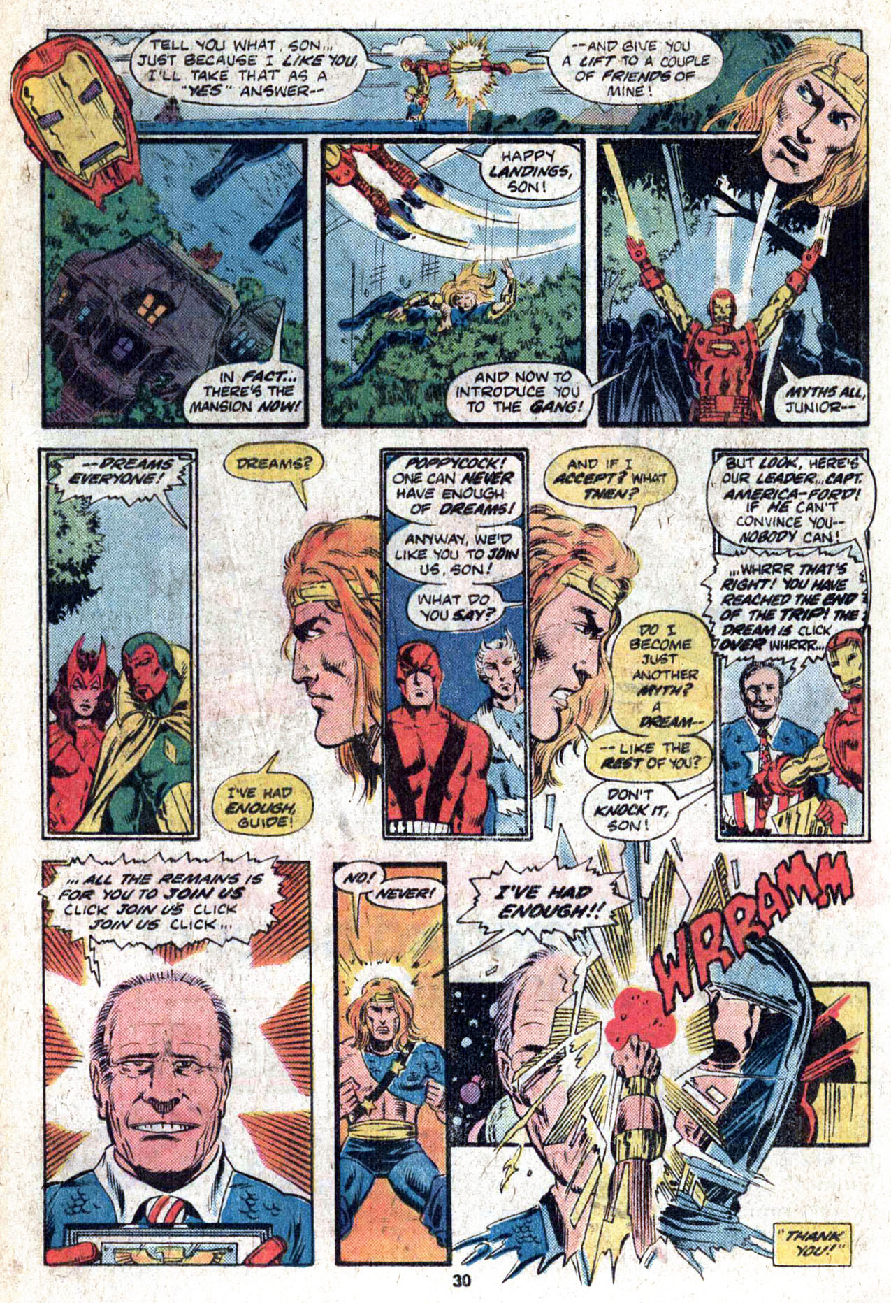 Read online Amazing Adventures (1970) comic -  Issue #38 - 32