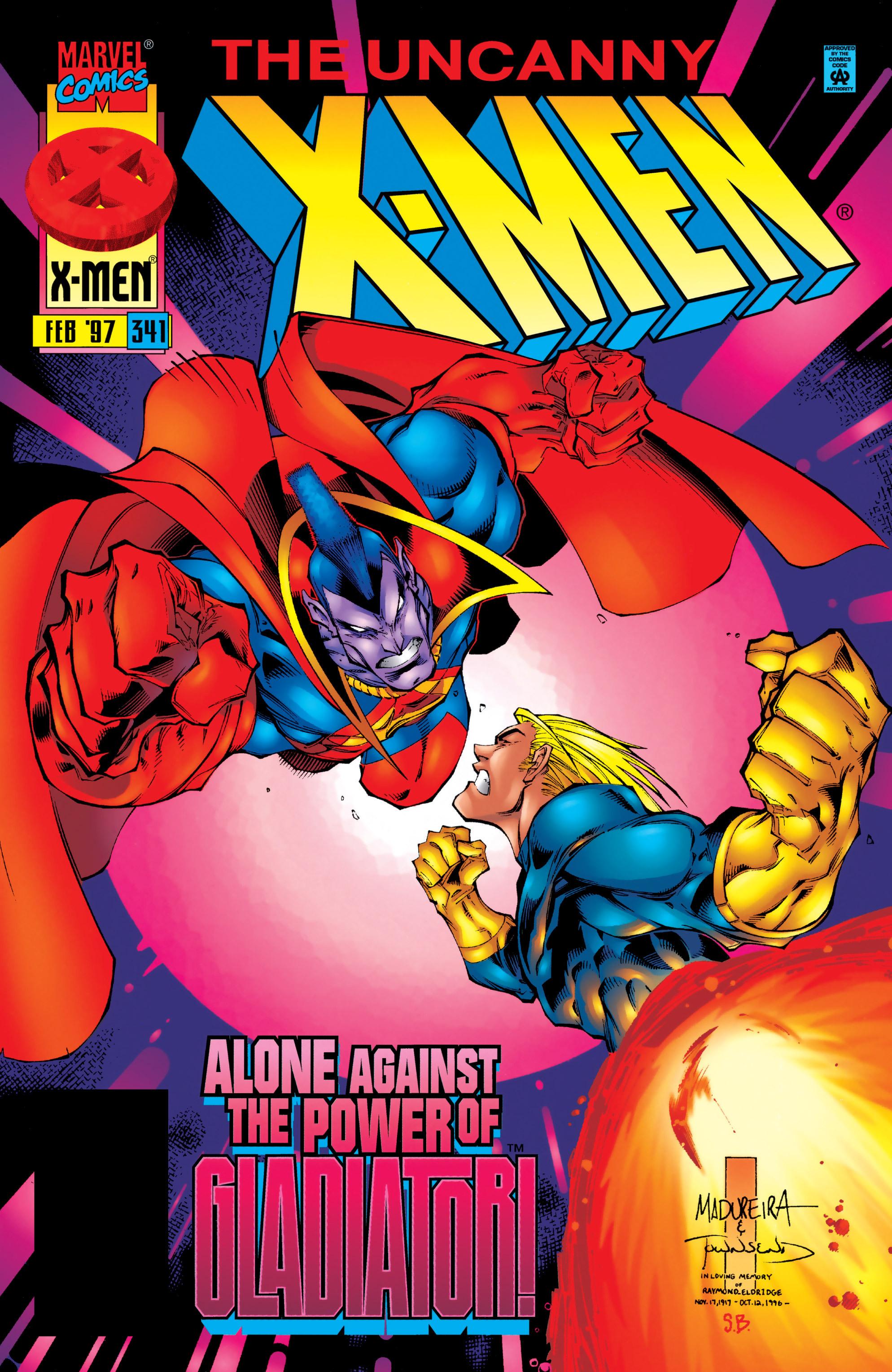 Uncanny X-Men (1963) 341 Page 1
