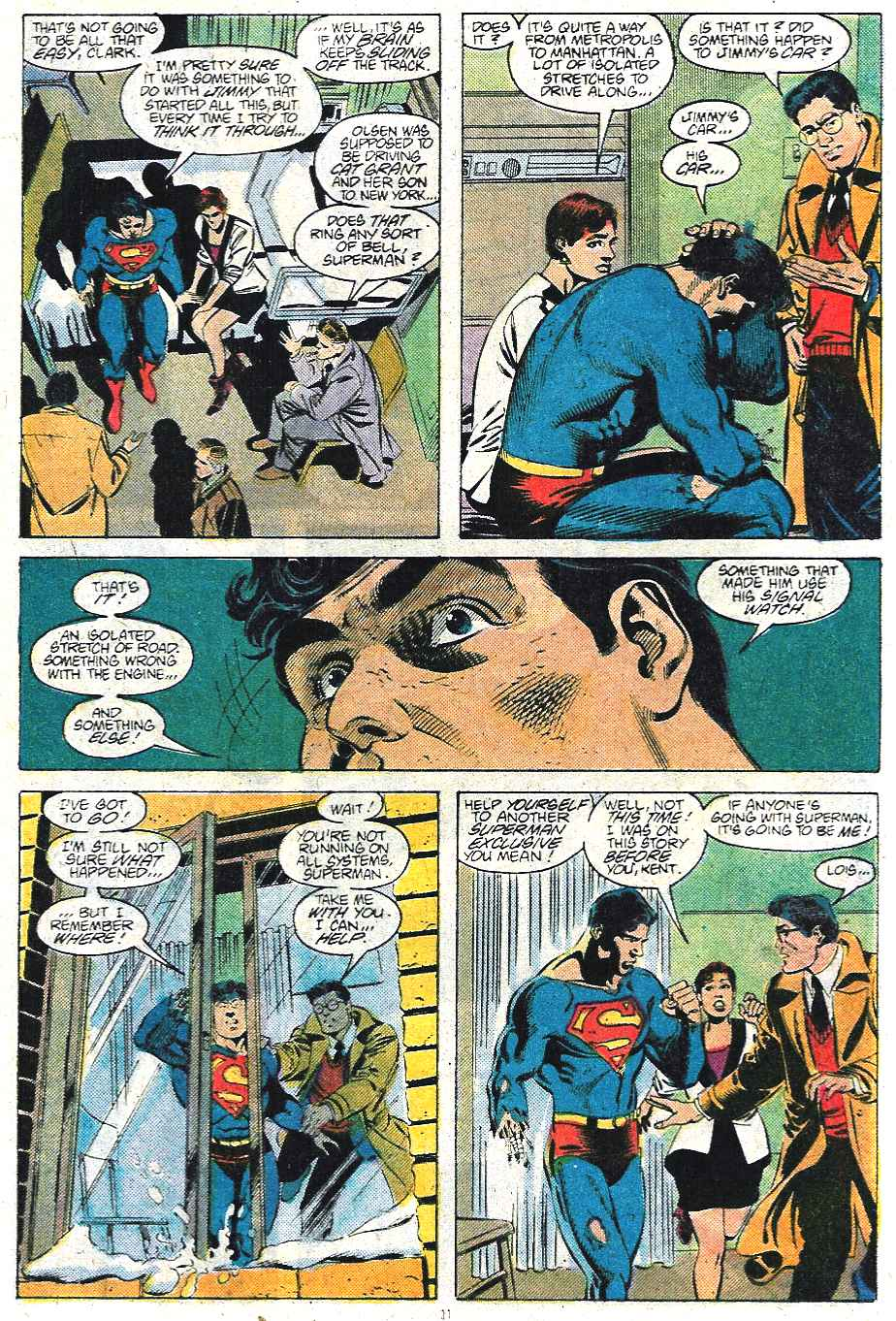 Read online Adventures of Superman (1987) comic -  Issue #439 - 12