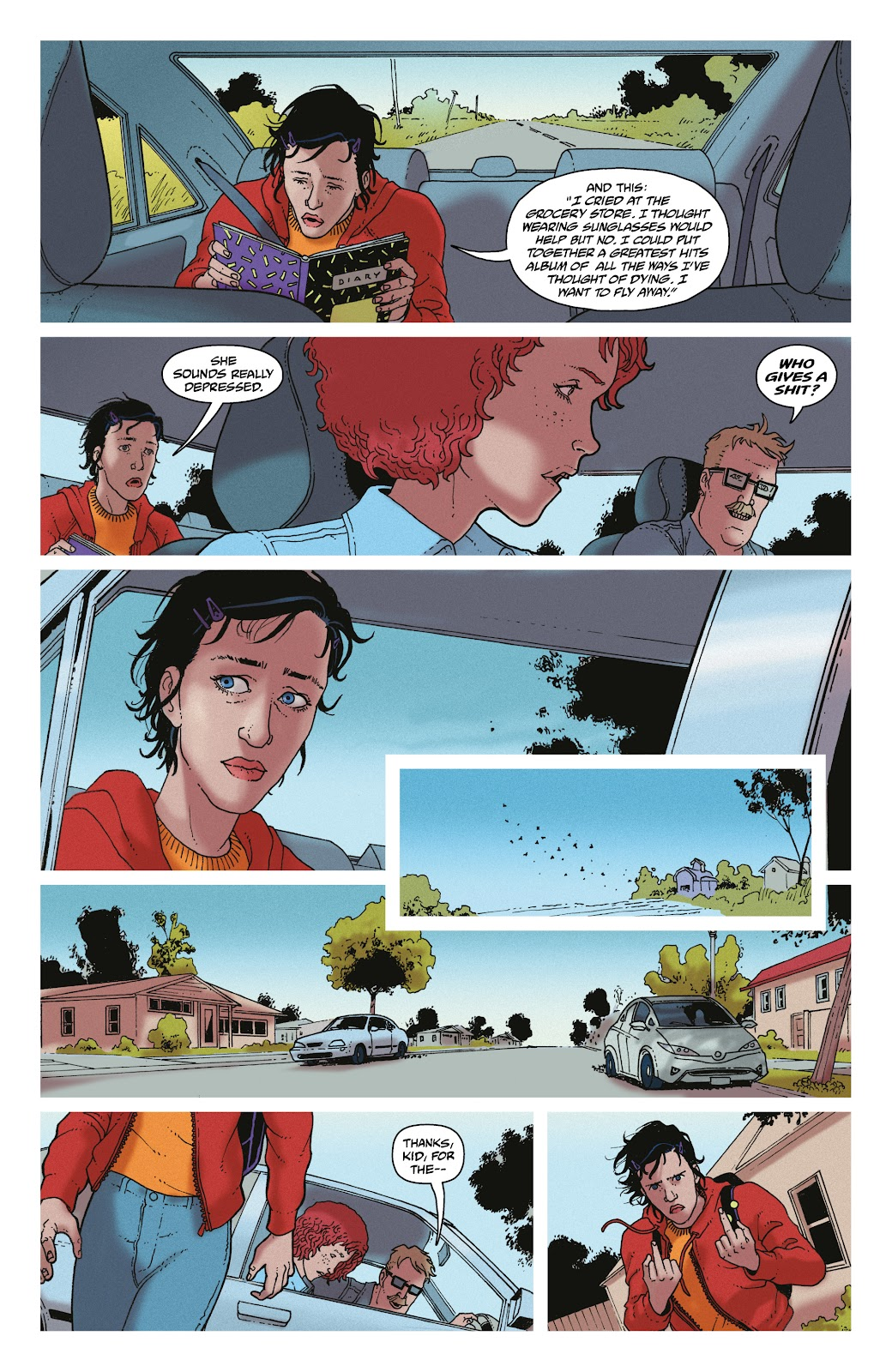 Read online She Could Fly comic -  Issue # _TPB - 91