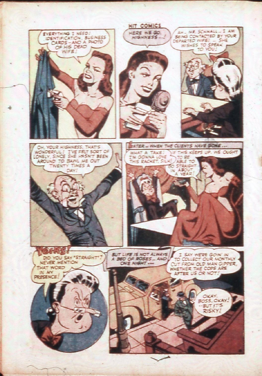 Read online Hit Comics comic -  Issue #30 - 35