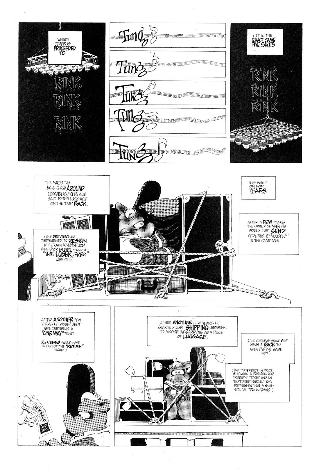 Cerebus Issue #267 #266 - English 12