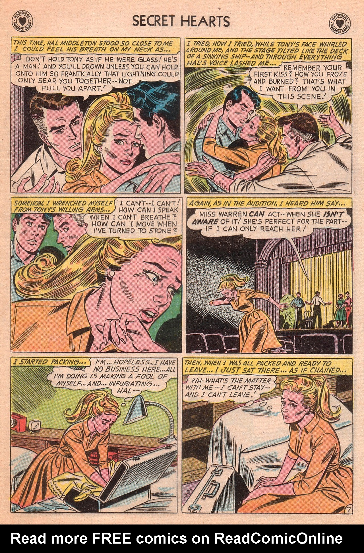 Read online Secret Hearts comic -  Issue #77 - 33