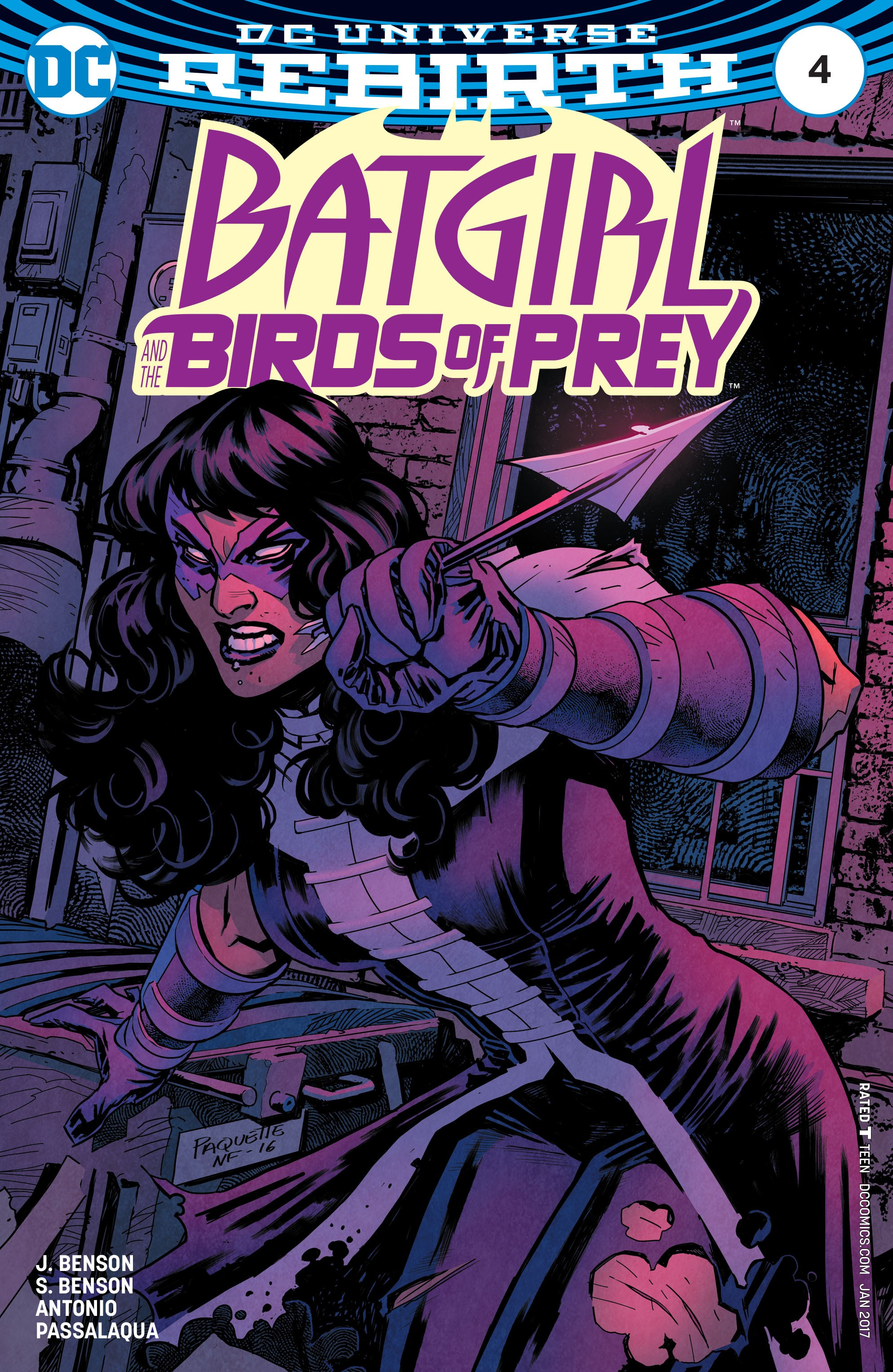 Batgirl and the Birds of Prey 4 Page 1