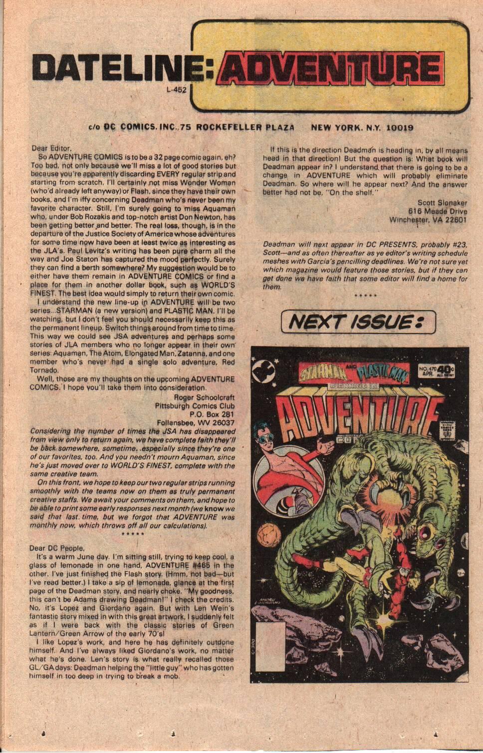 Read online Adventure Comics (1938) comic -  Issue #469 - 16