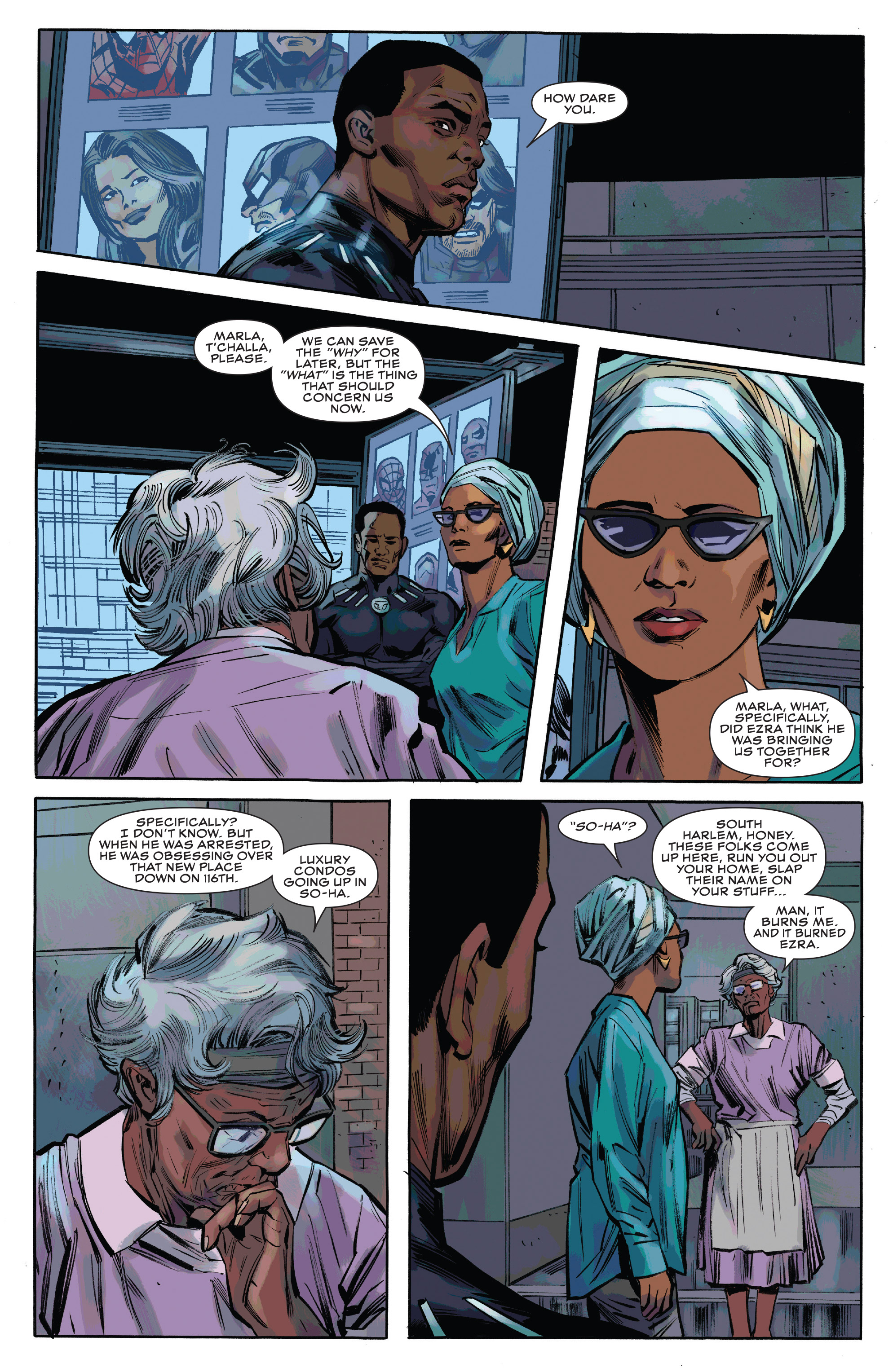 Read online Black Panther and the Crew comic -  Issue #3 - 10