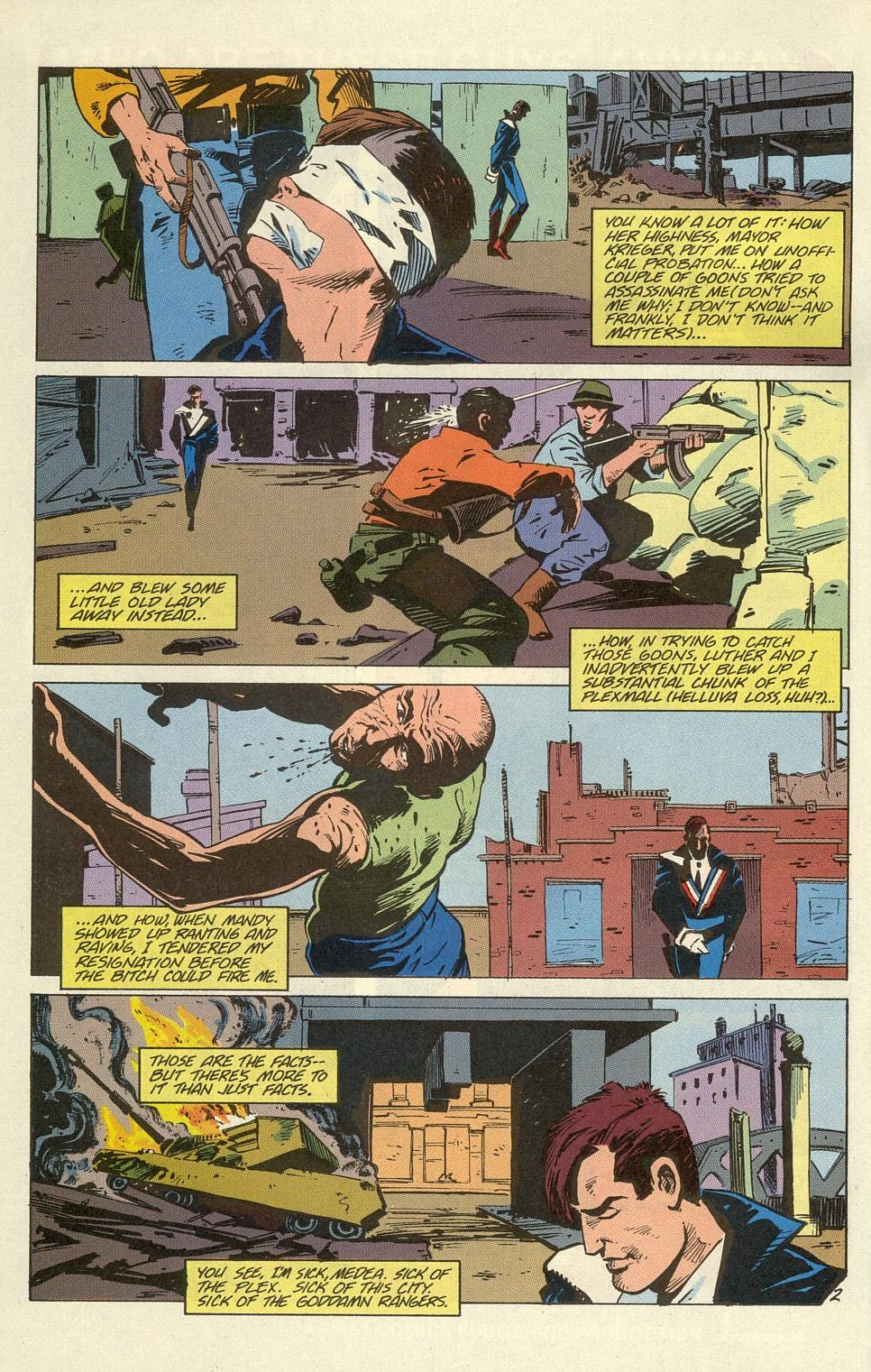 Read online American Flagg! comic -  Issue #39 - 4